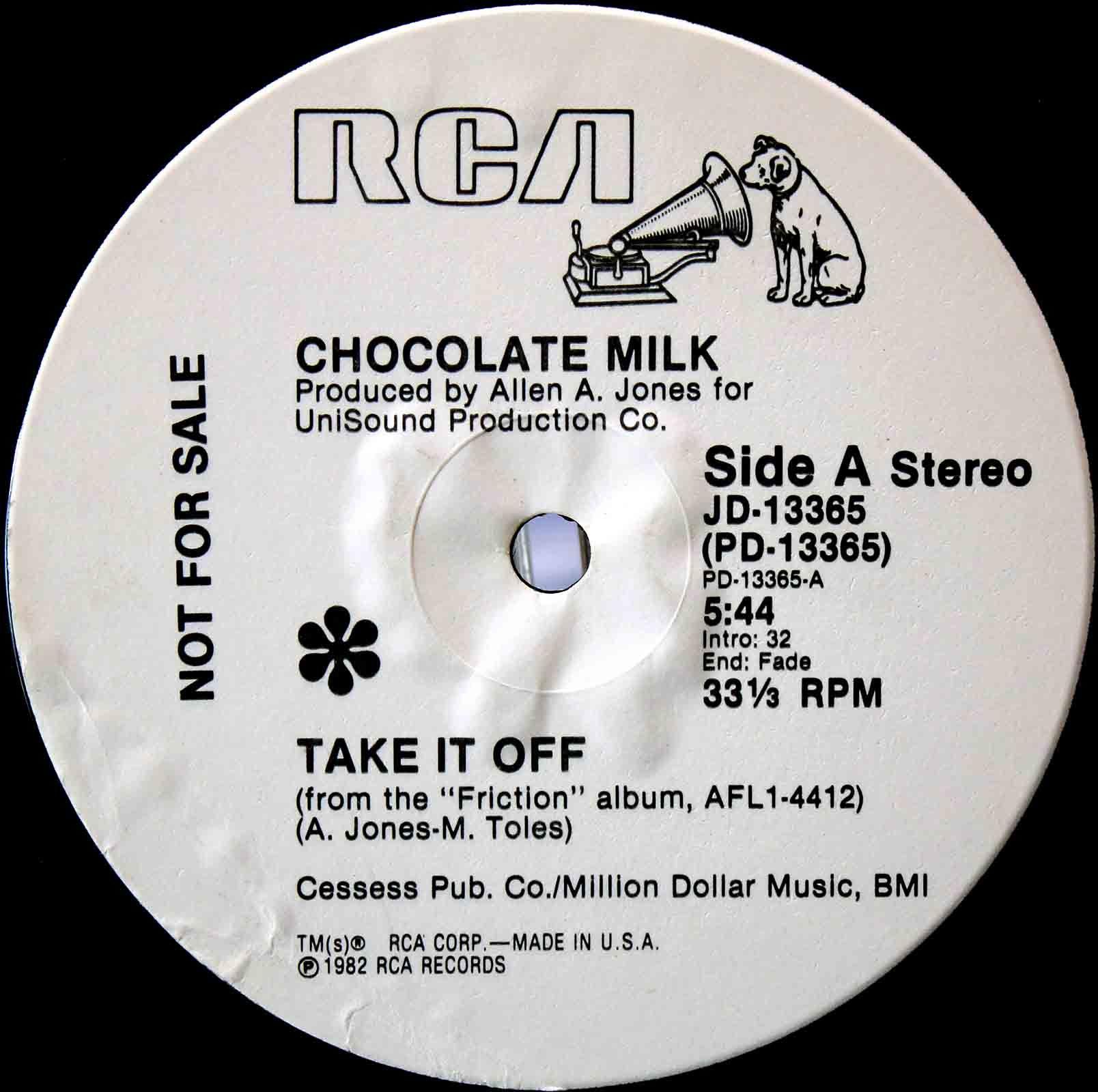 Chocolate Milk - Take It Off 03