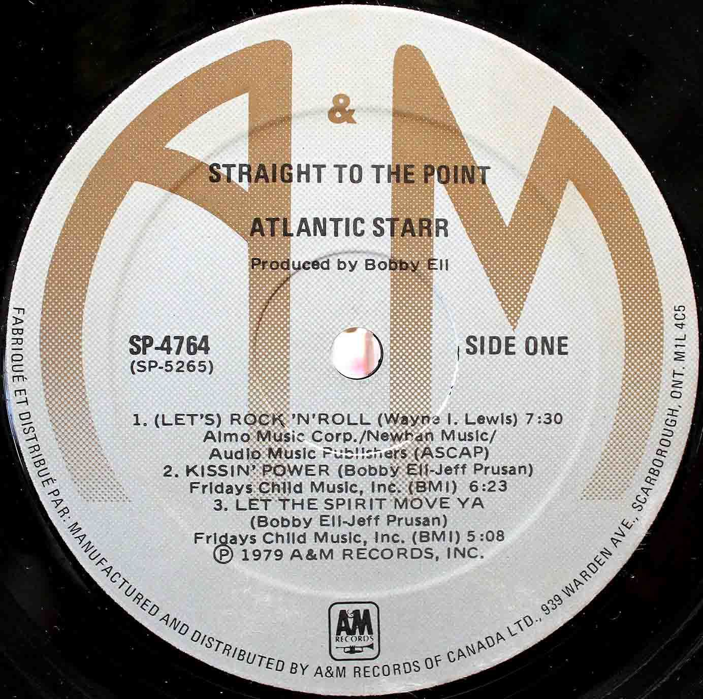 Atlantic Starr Straight To The Point 05