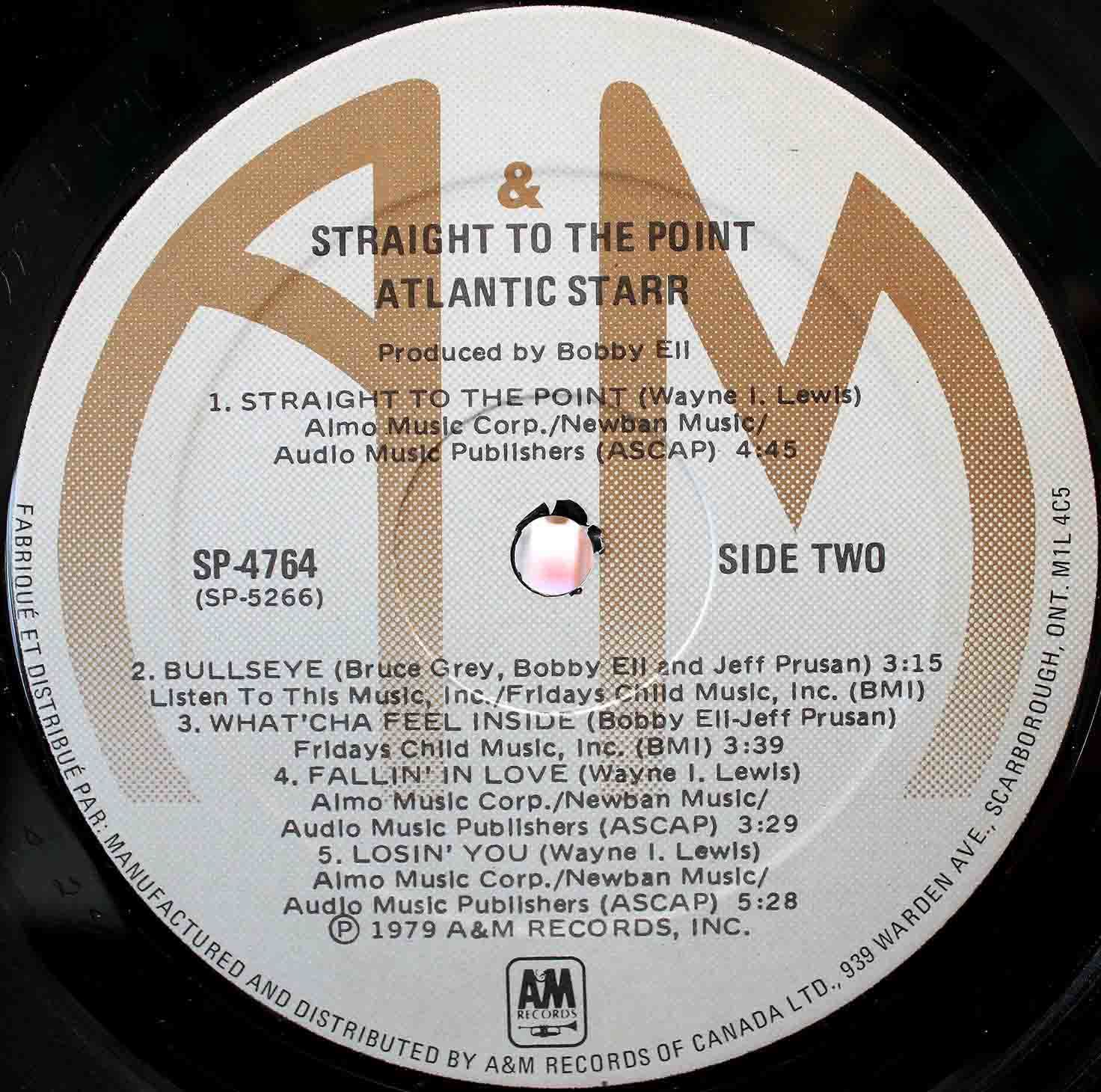 Atlantic Starr Straight To The Point 06