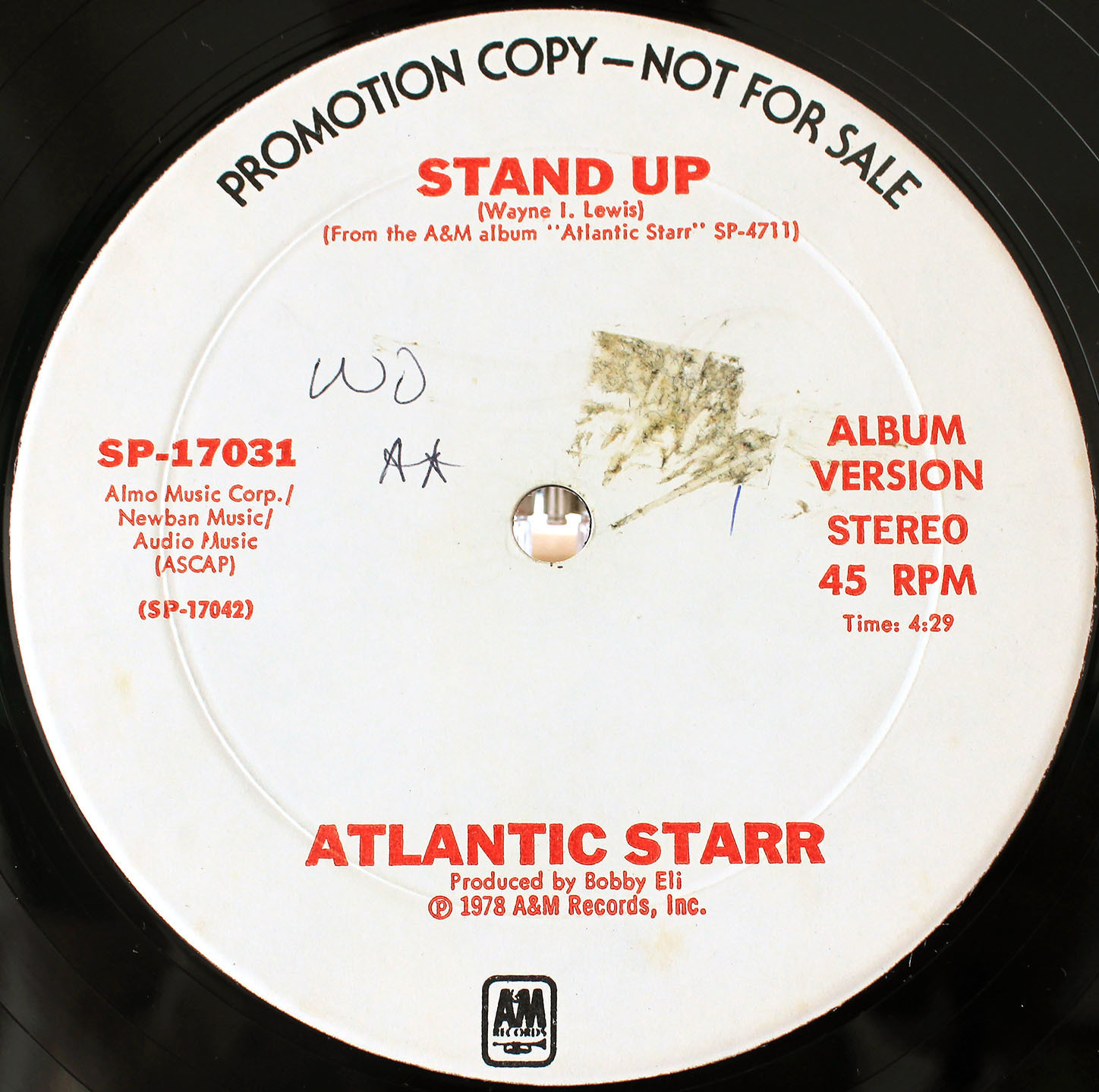 Atlantic Starr Stand Up (US Promo 12`Disco Long Version) 04