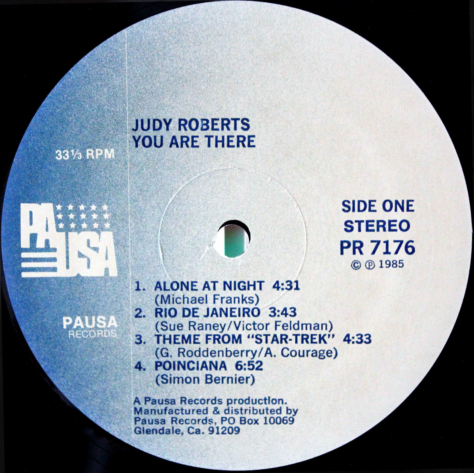 Judy Roberts ‎– You Are There 03