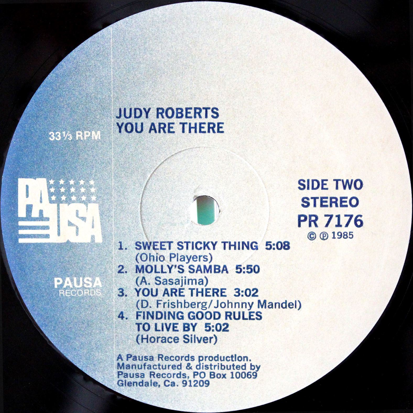 Judy Roberts ‎– You Are There 04