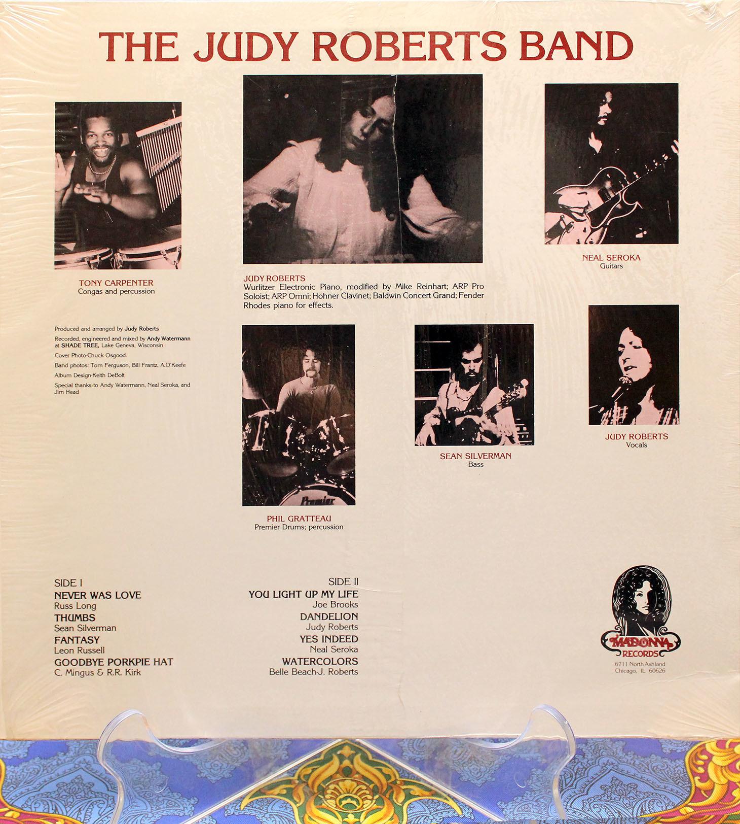 Judy Roberts band 02