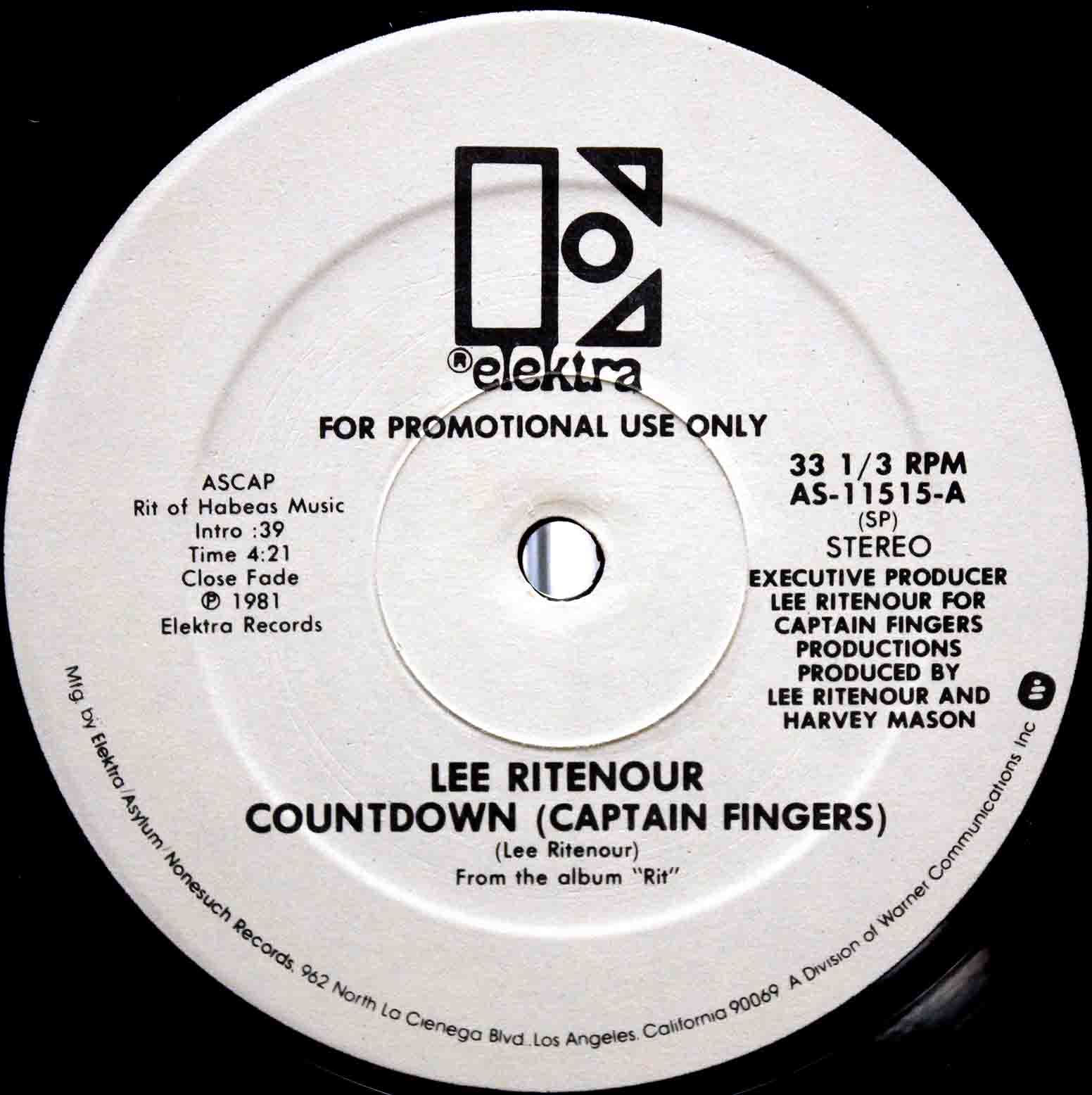 Lee Ritenour ‎– Countdown 03