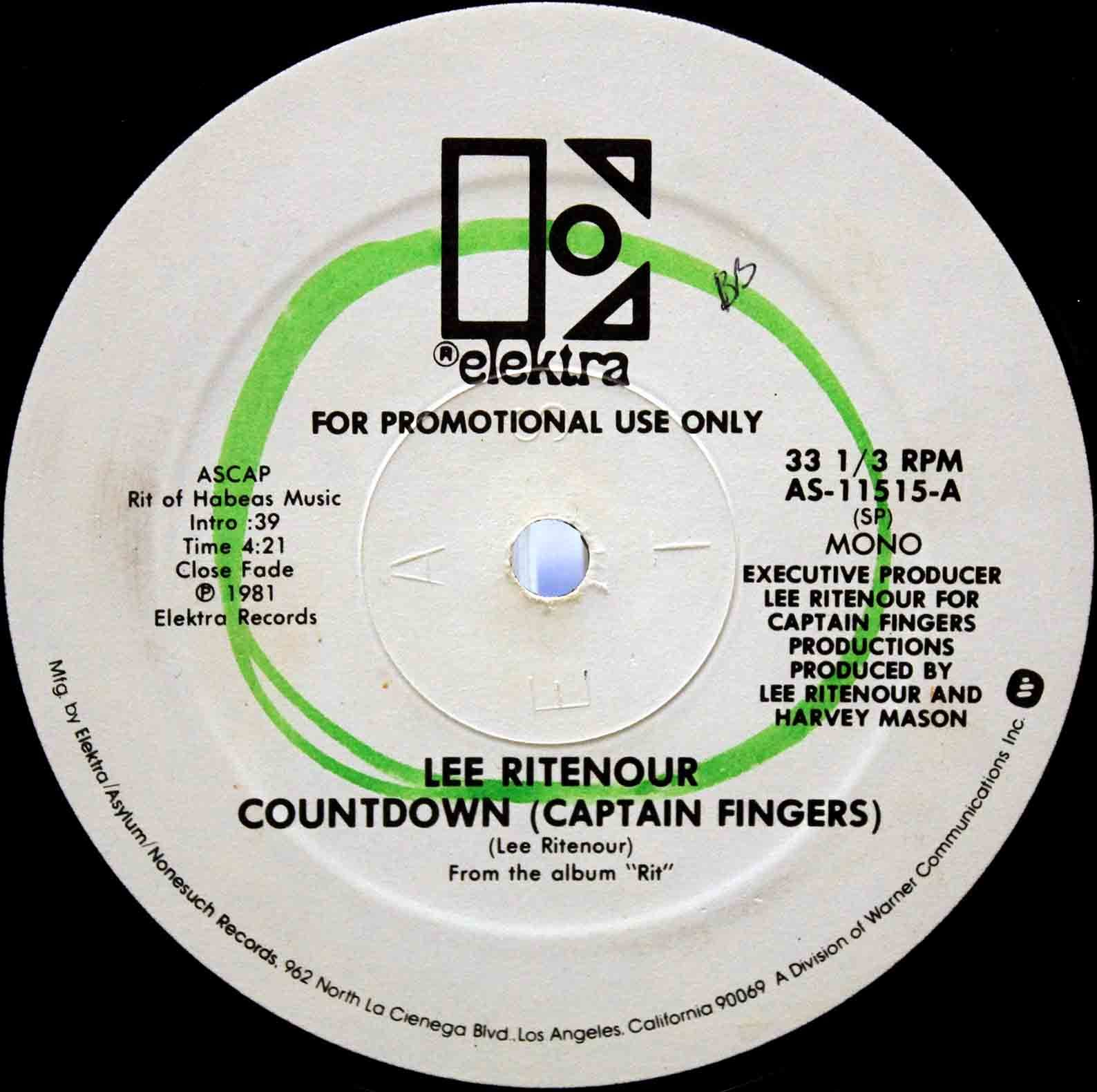 Lee Ritenour ‎– Countdown 04