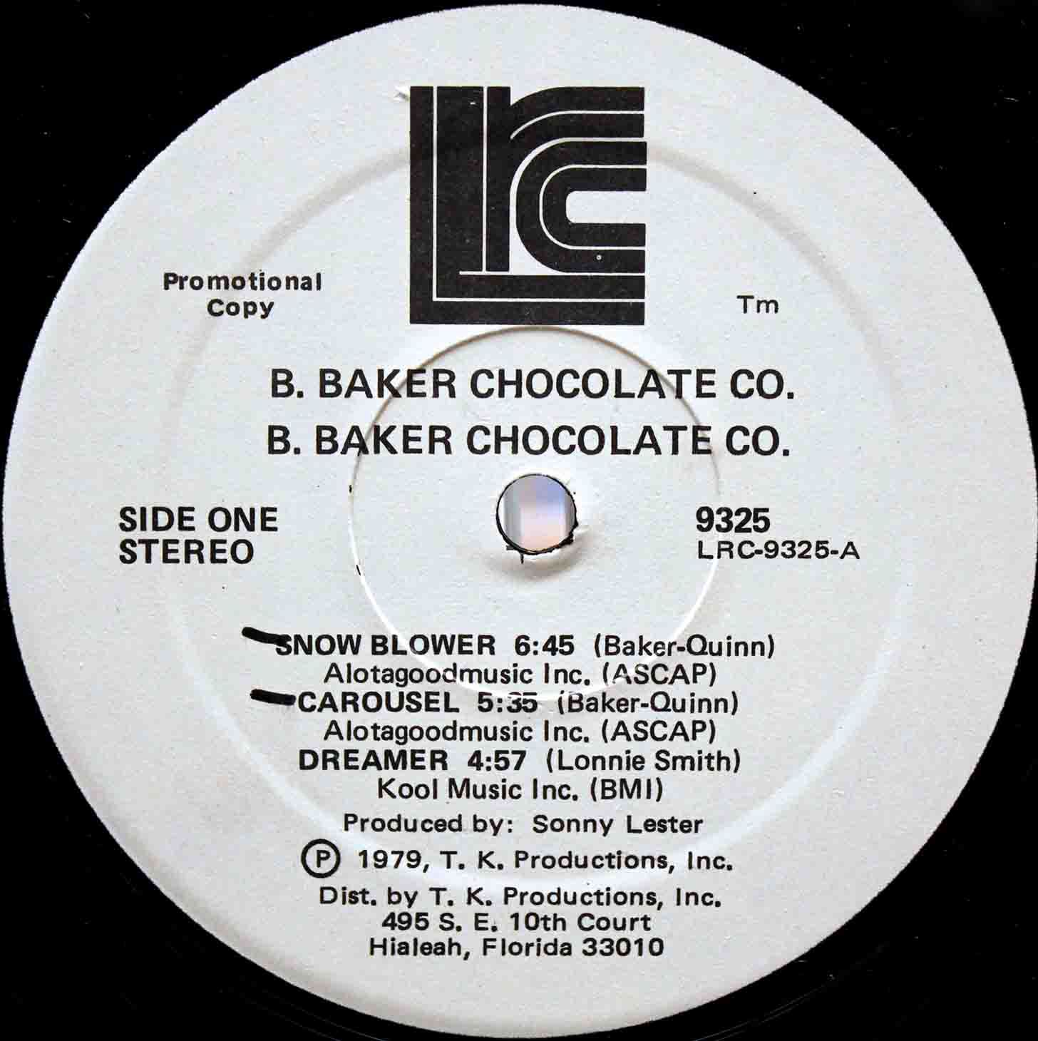 B Baker Chocolate Co 03