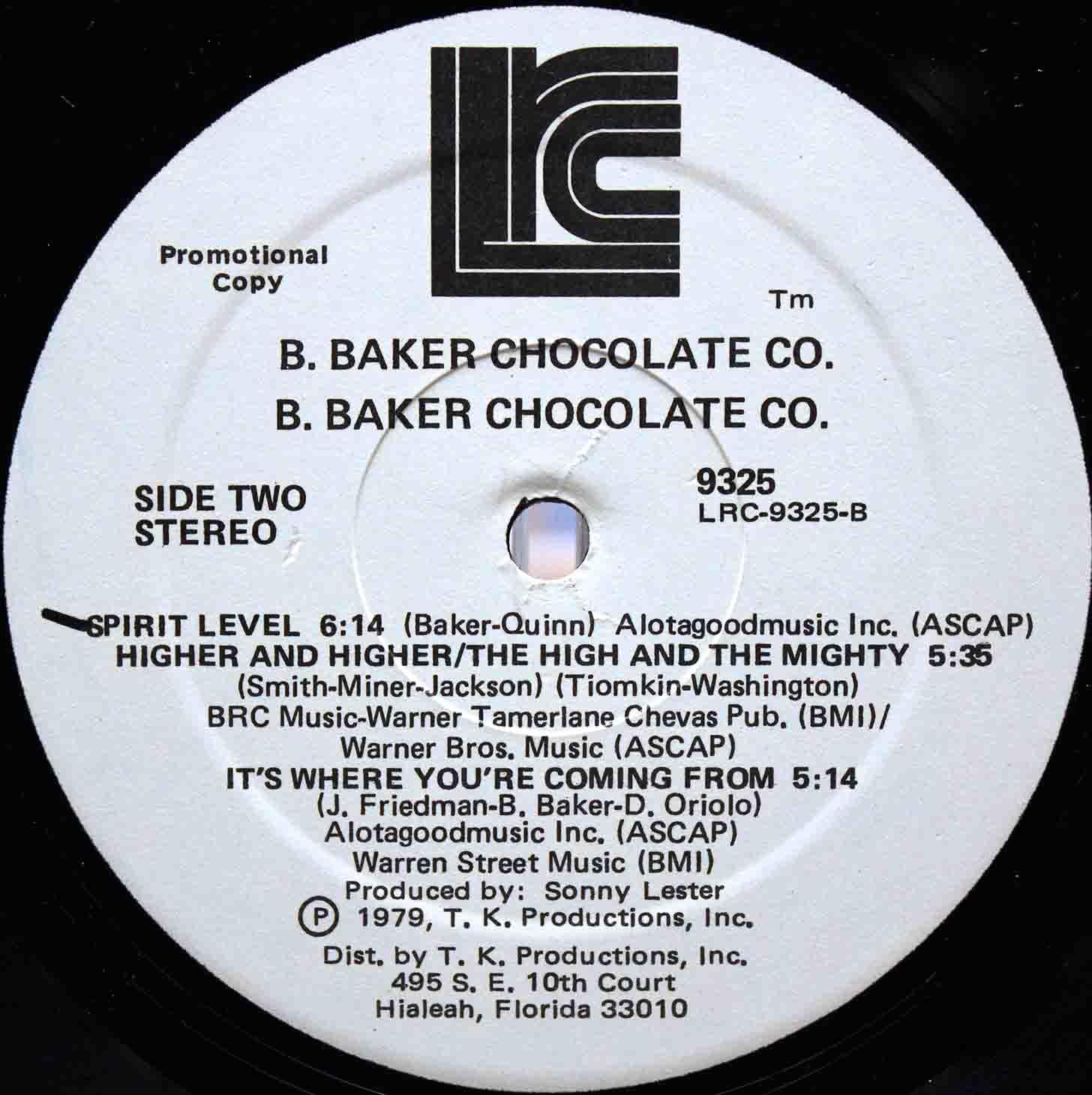 B Baker Chocolate Co 04