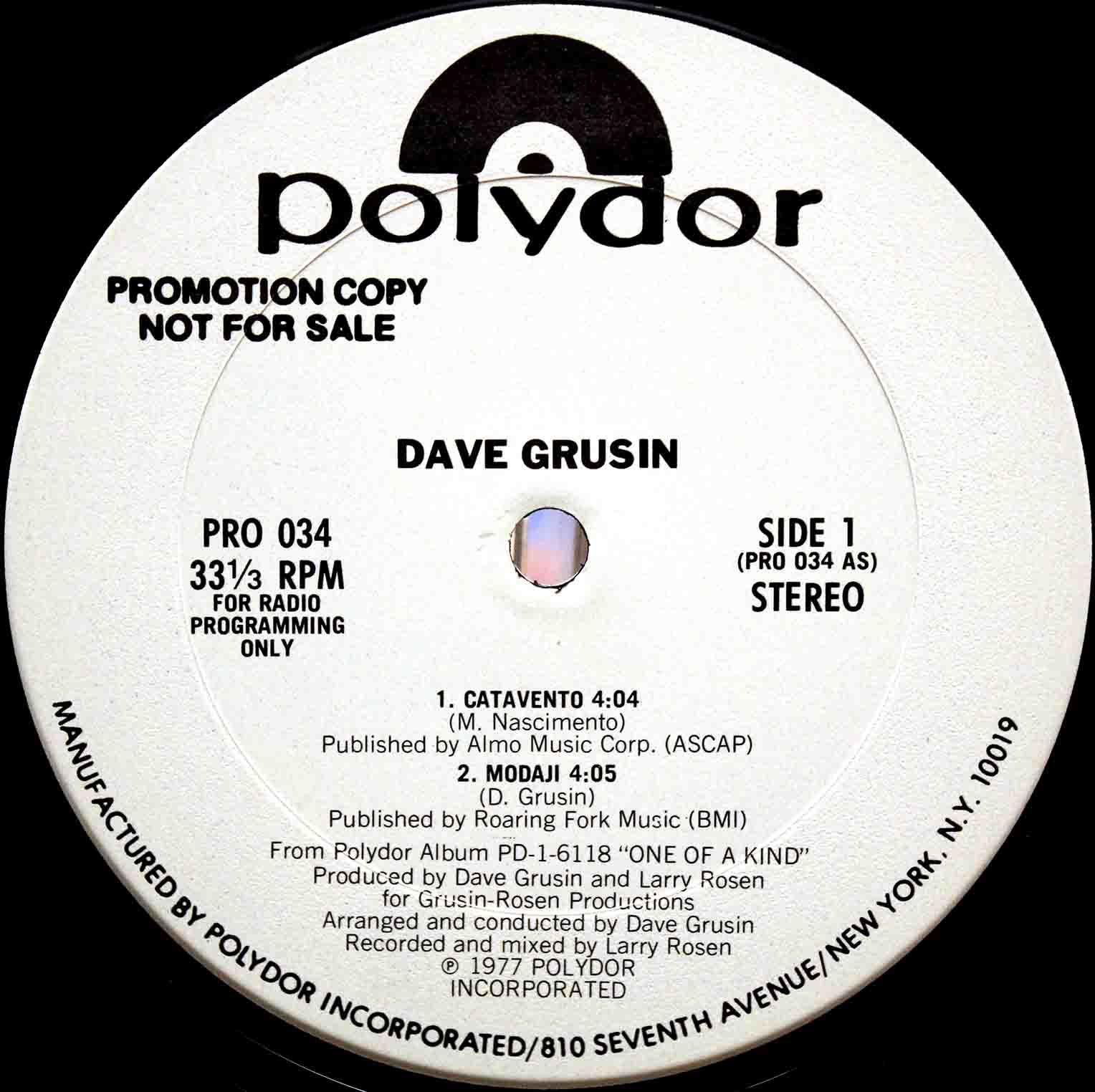 Dave Grusin – Catavento 02