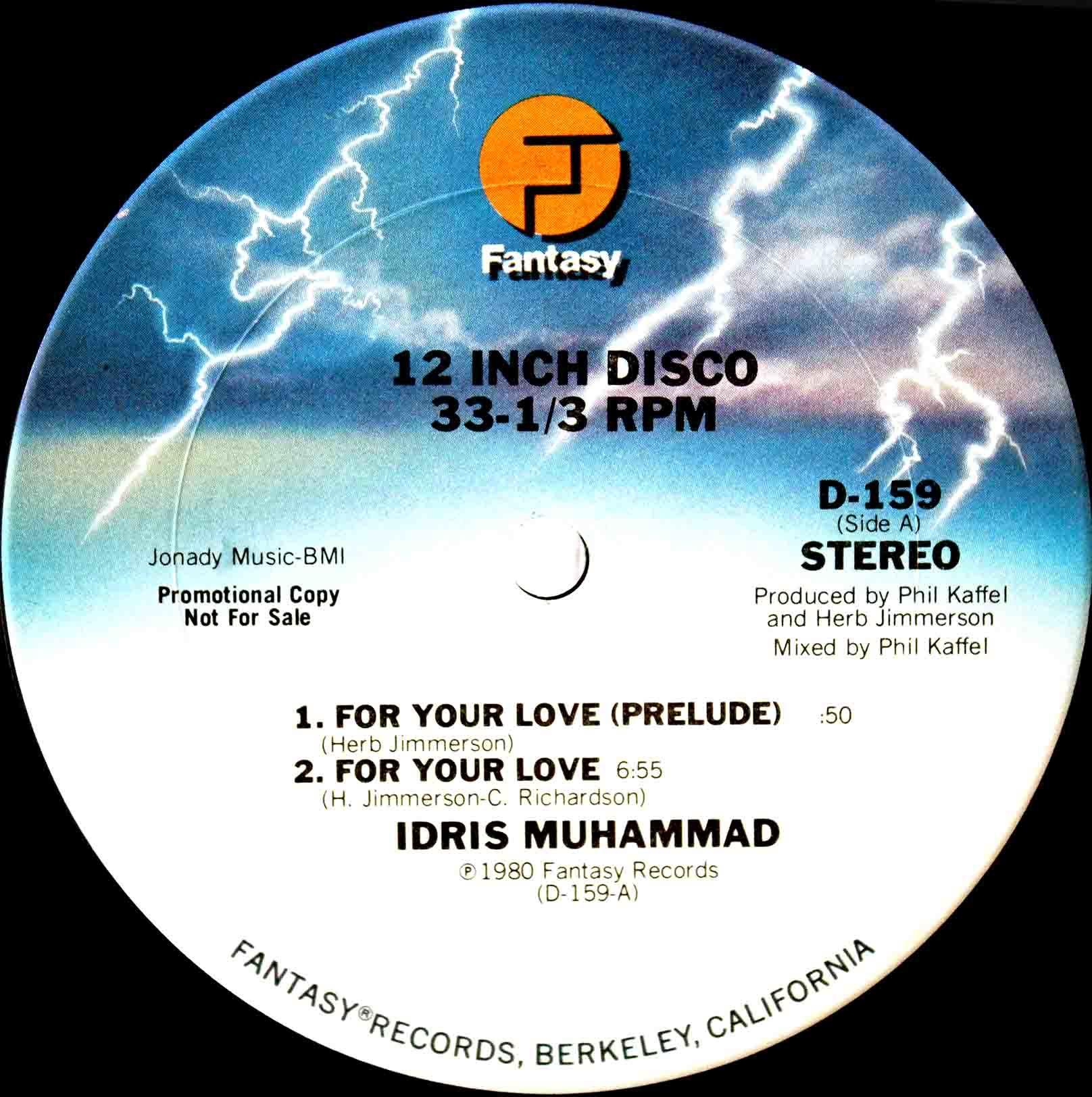 Idris Muhammad Dont Fight The Feeling 04