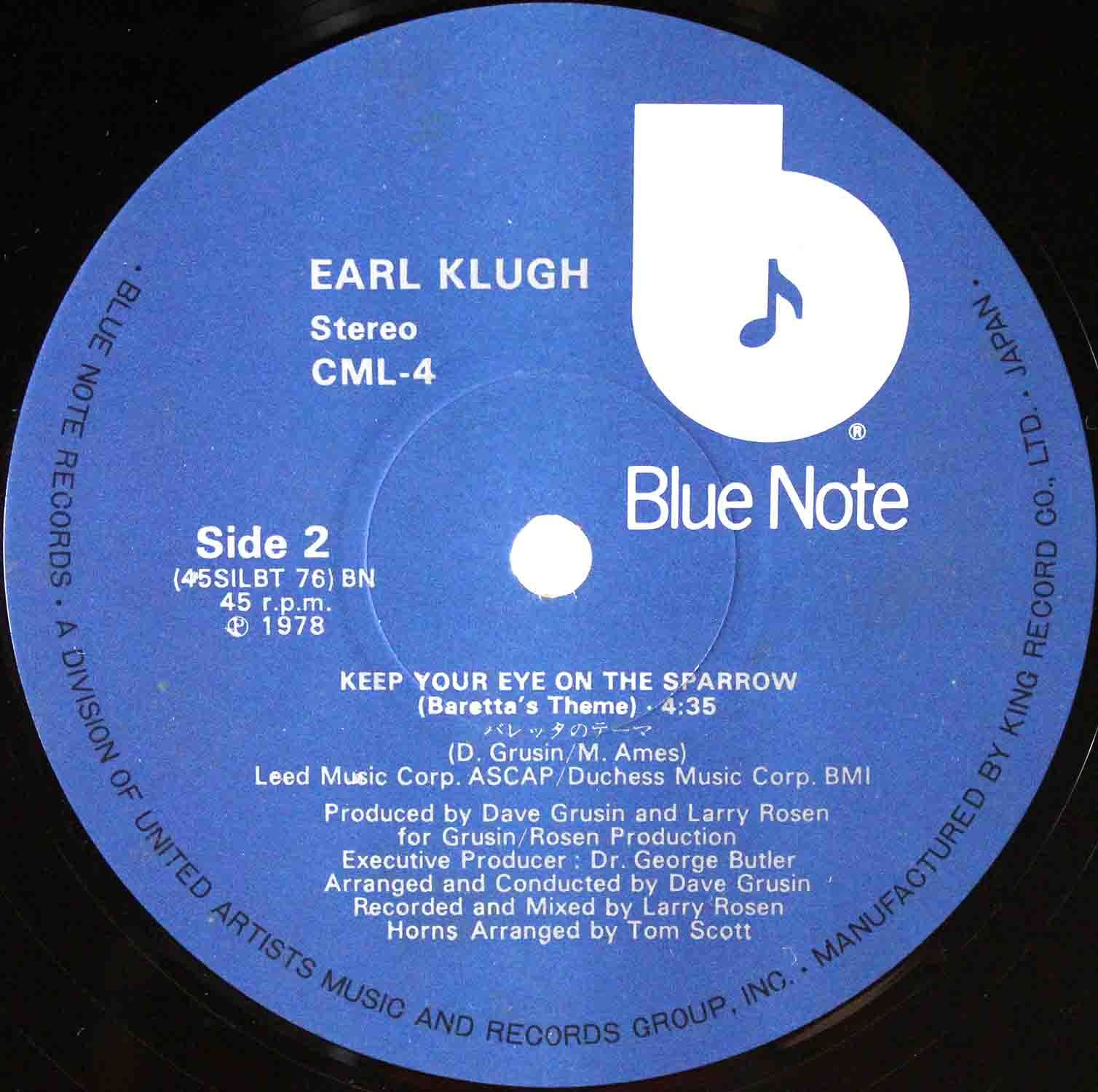 Earl Klugh - Keep Your Eyes On The Sparrow 04
