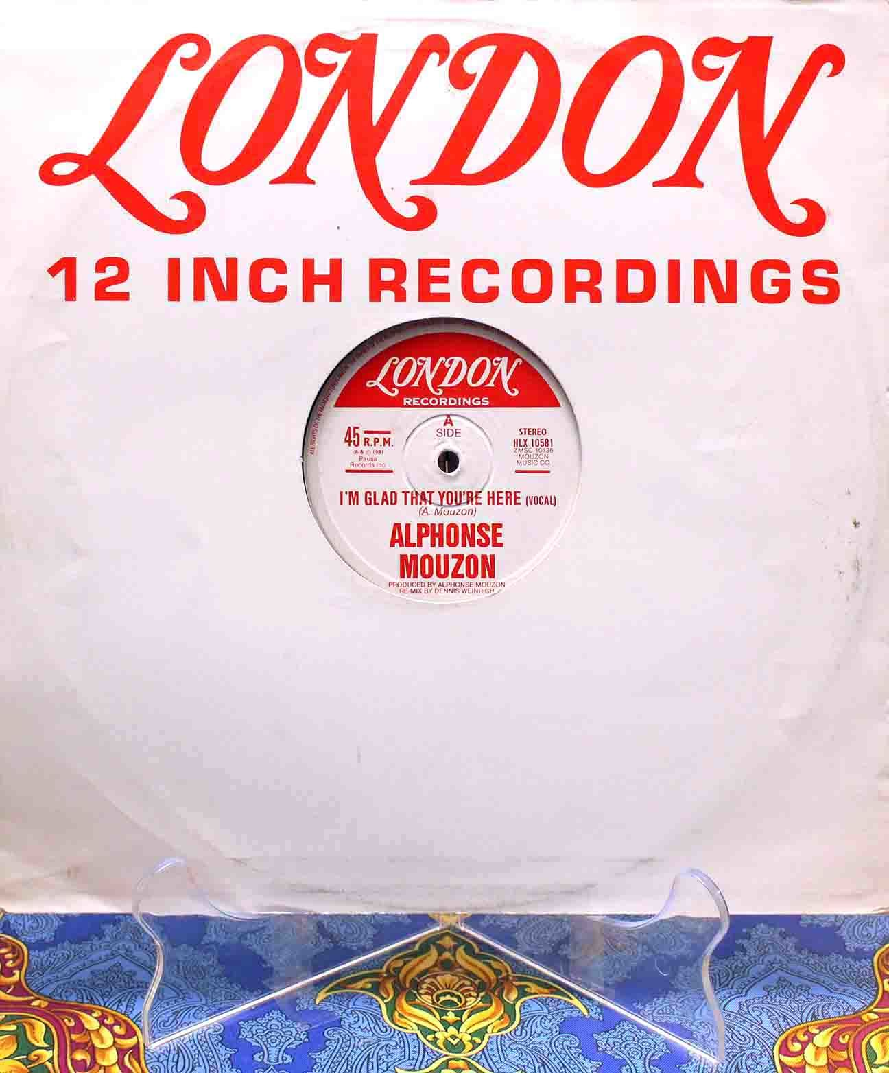 Alphonse Mouzon – Im Glad That Youre Here 01