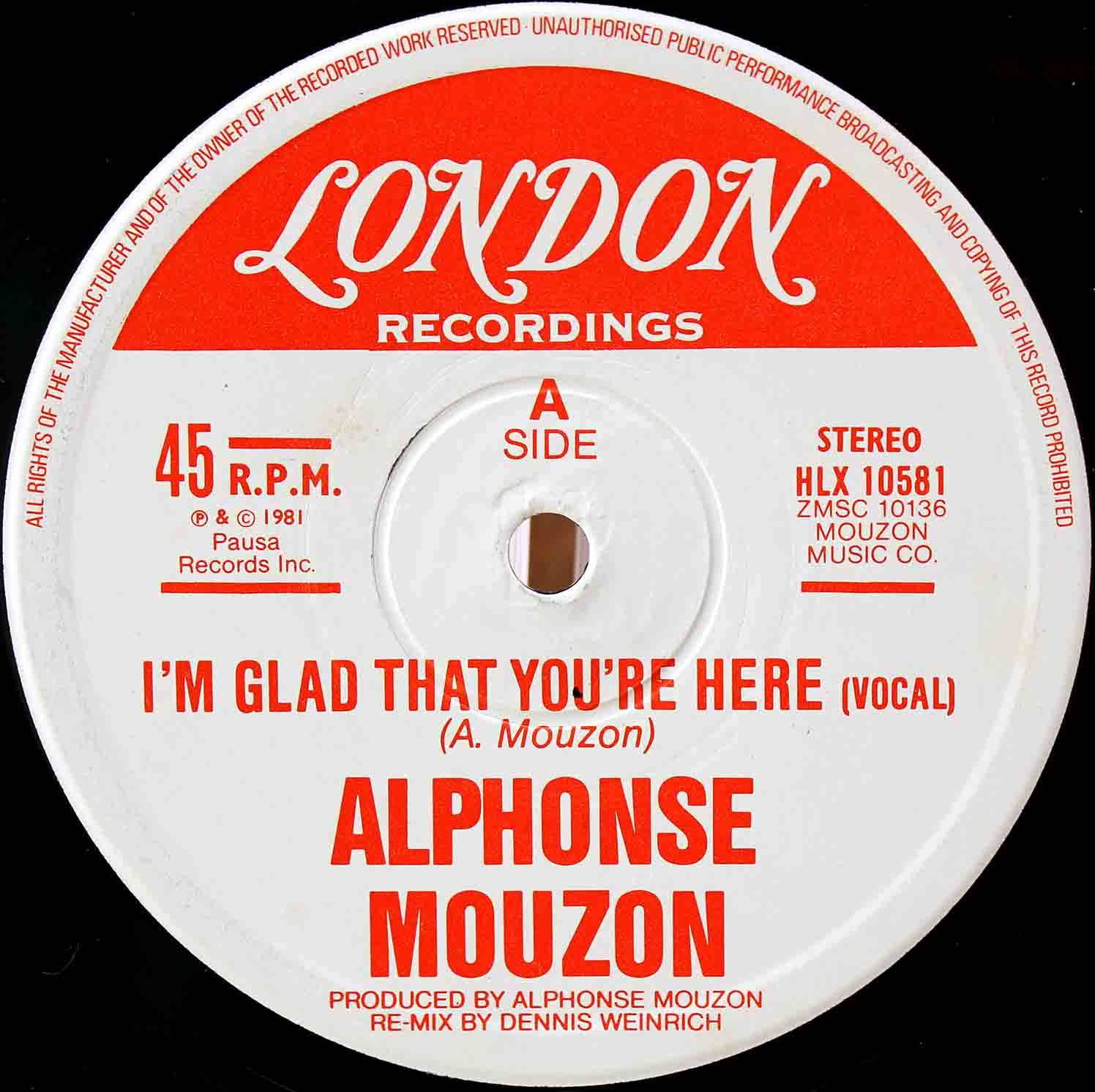 Alphonse Mouzon – Im Glad That Youre Here 03