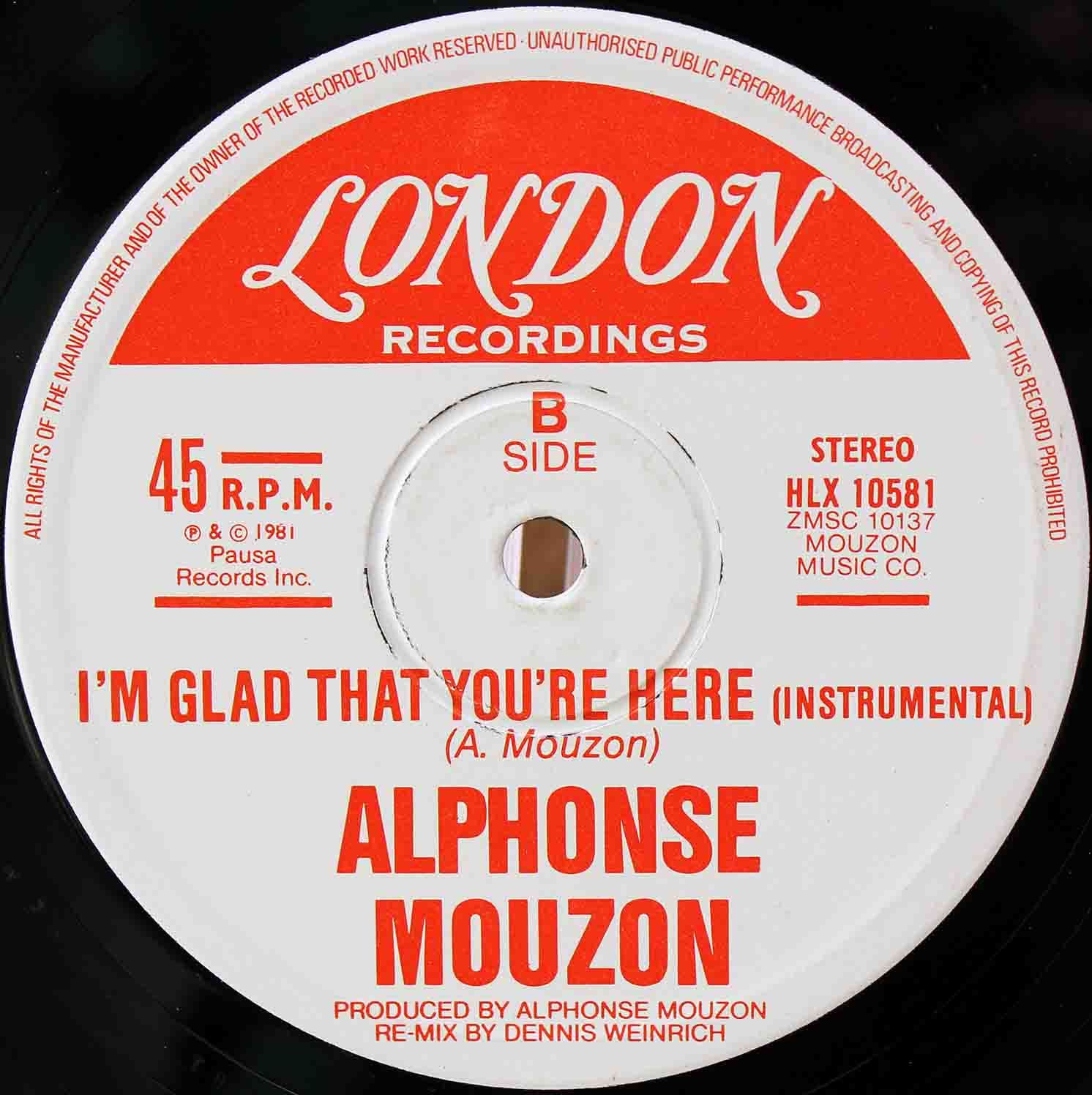 Alphonse Mouzon – Im Glad That Youre Here 04