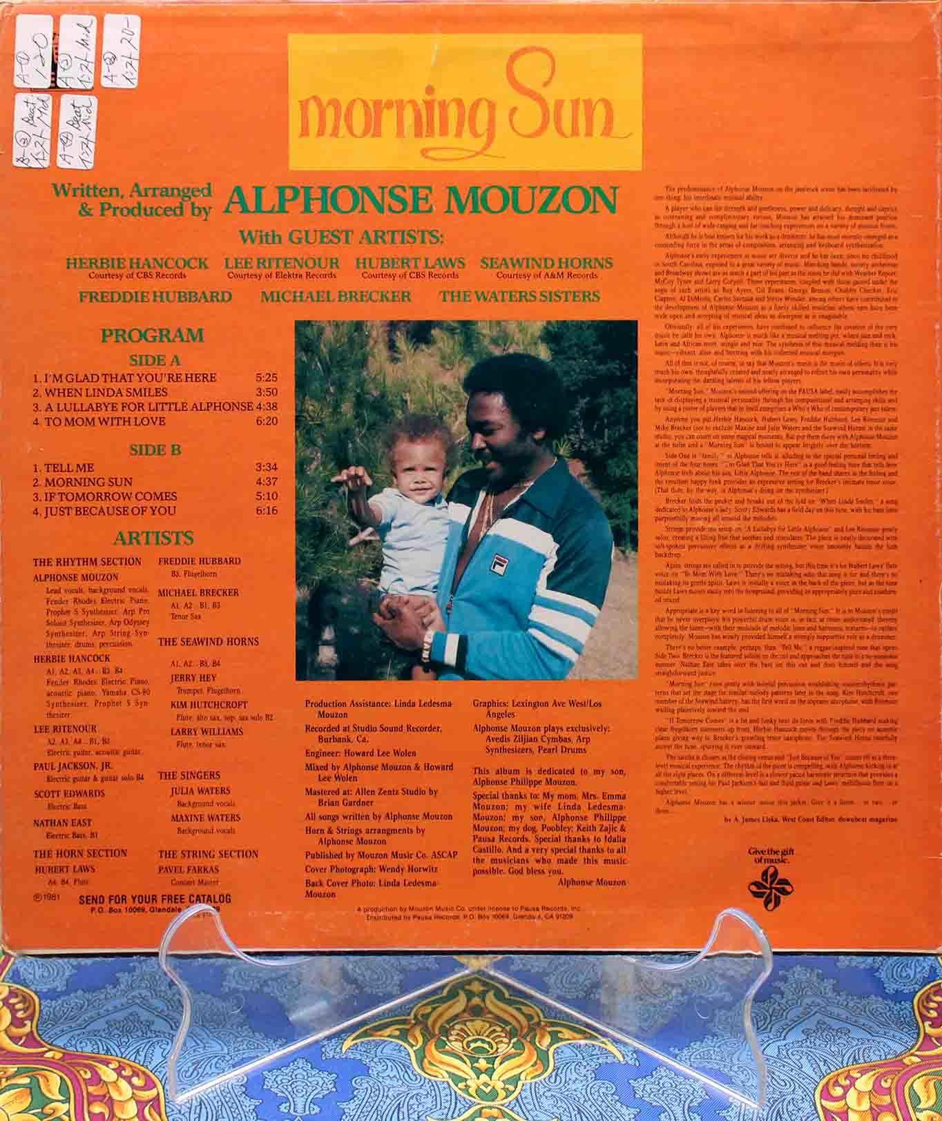 Alphonse Mouzon - Morning Sun 02