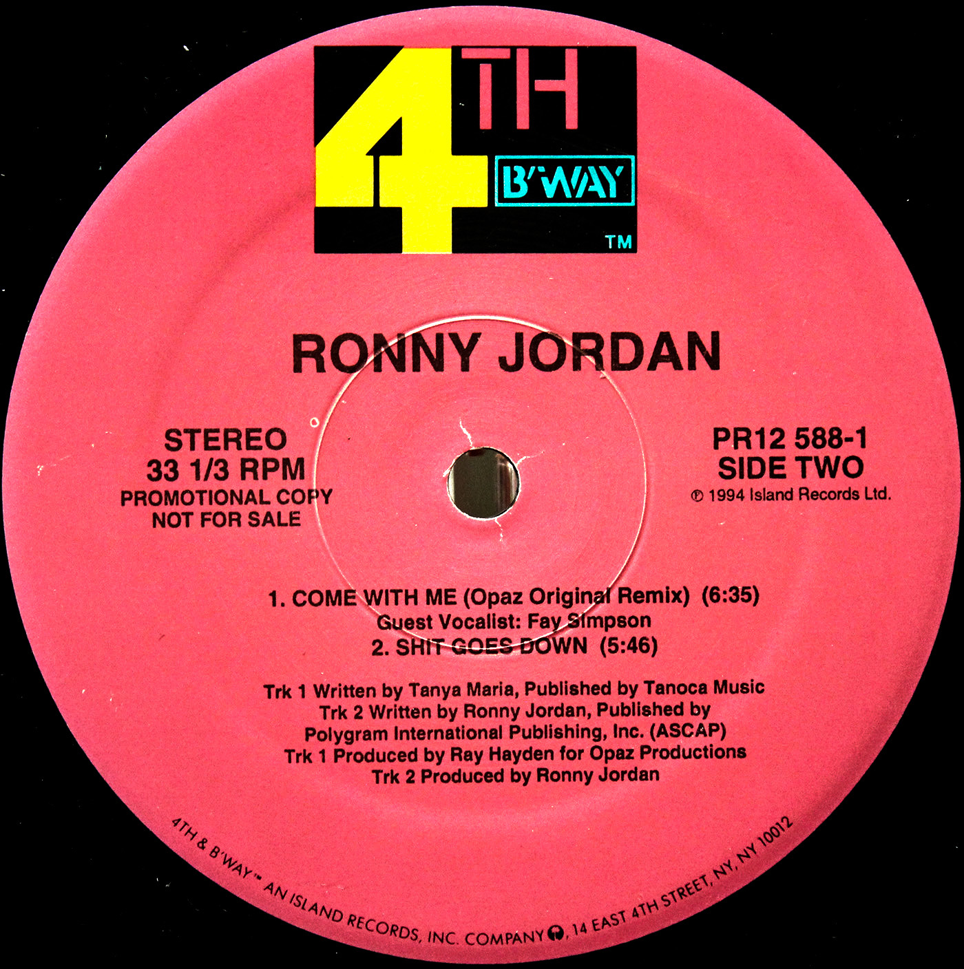 Ronny Jordan come with me 03