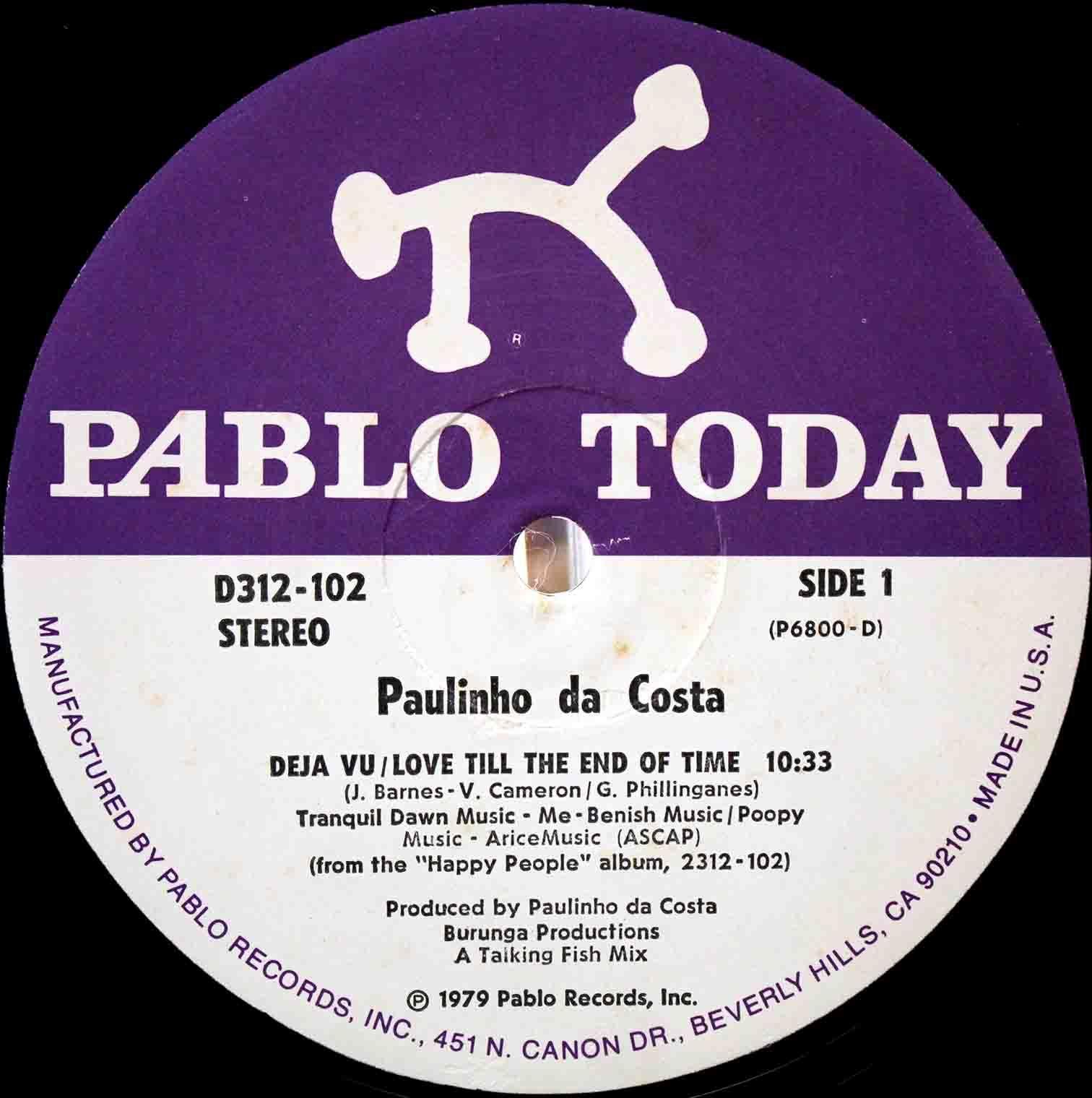 Paulinho Da Costa – Deja Vu 03