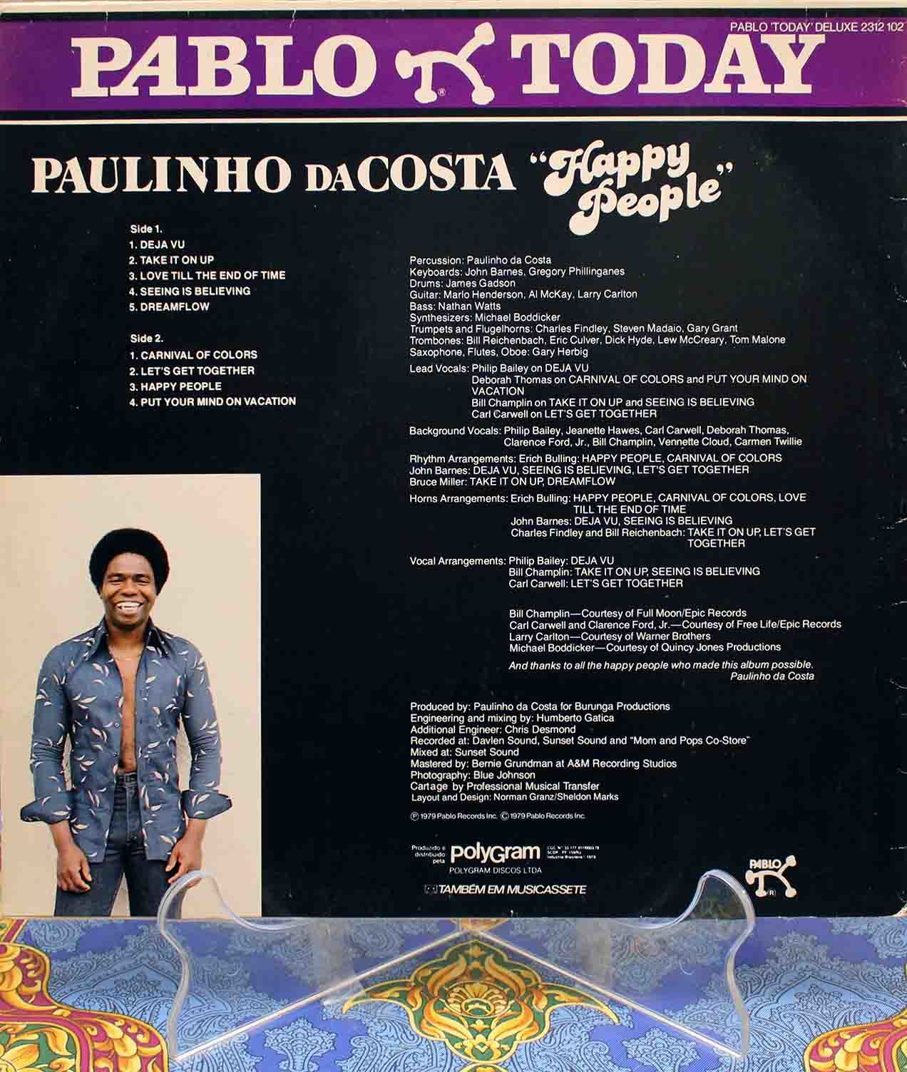 Paulinho Da Costa ‎– Happy People 02