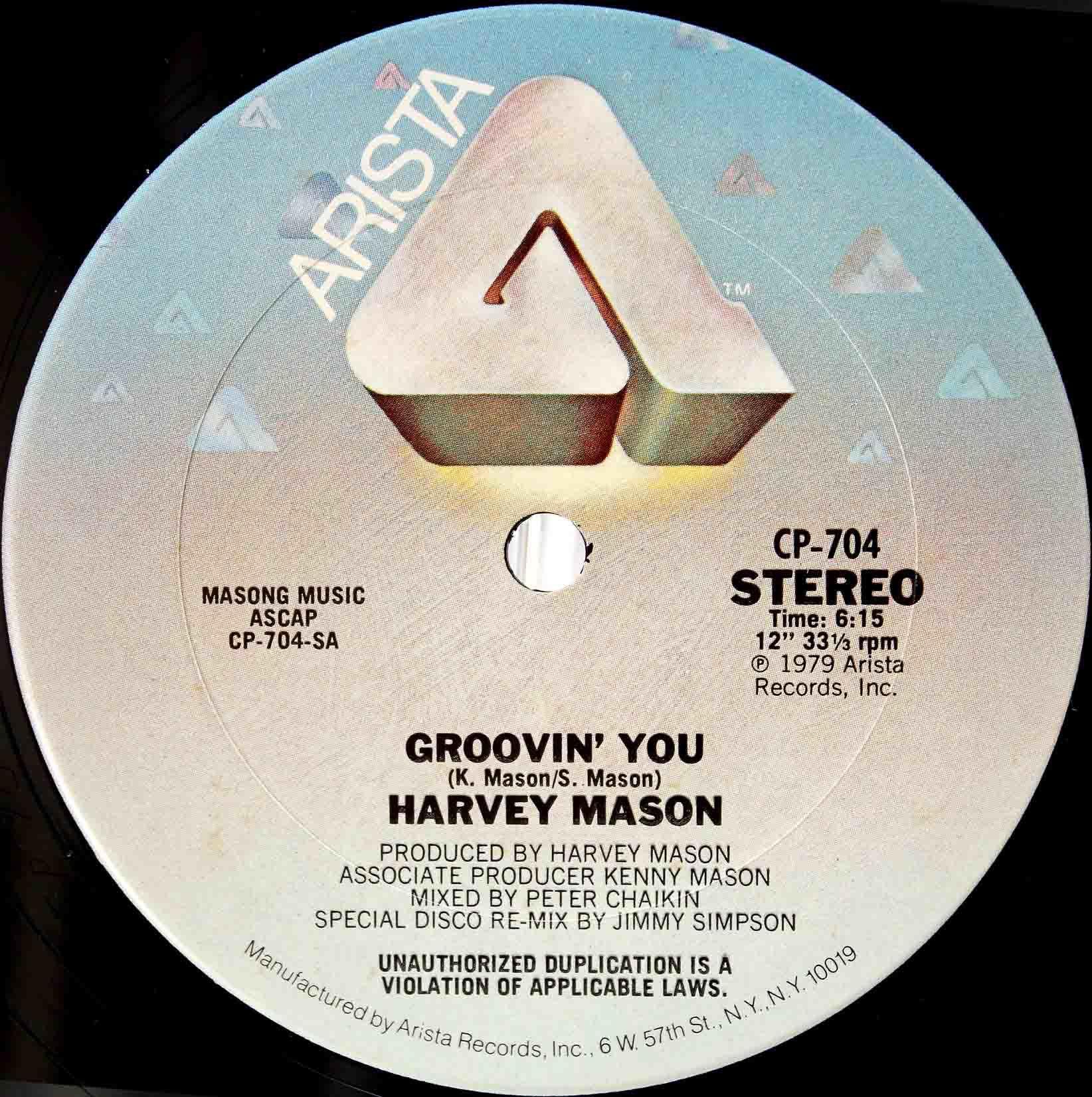 Harvey Mason - Groovin You 03