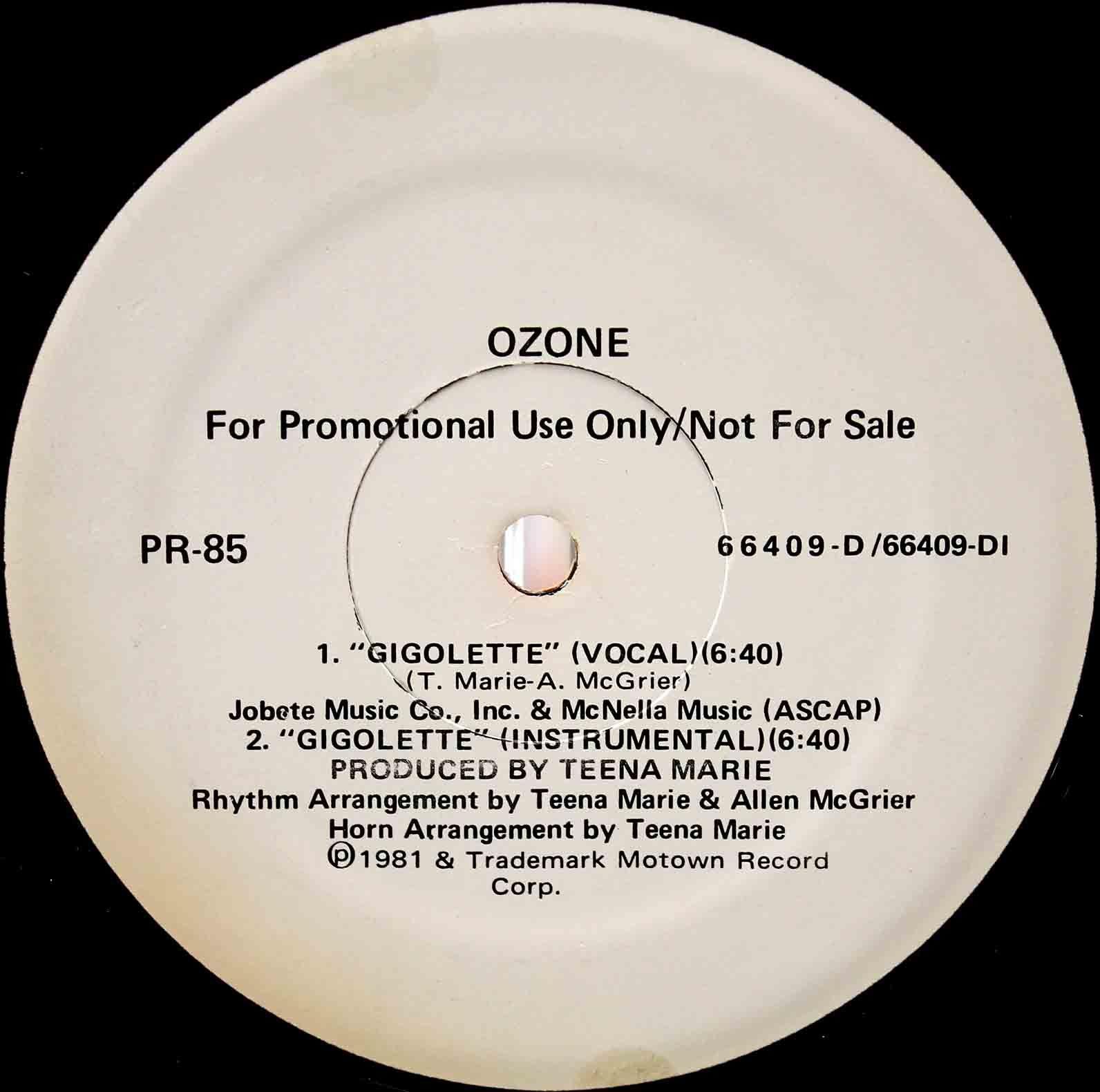 Ozone – Gigolette 02