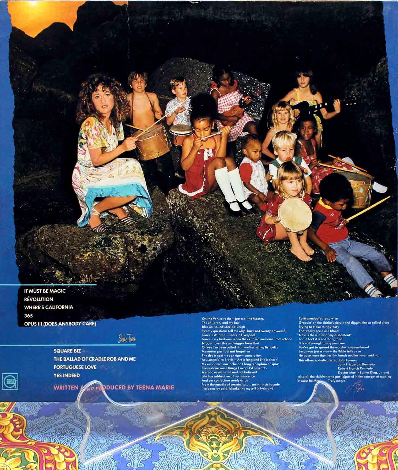 Teena Marie - It Must Be Magic LP 02