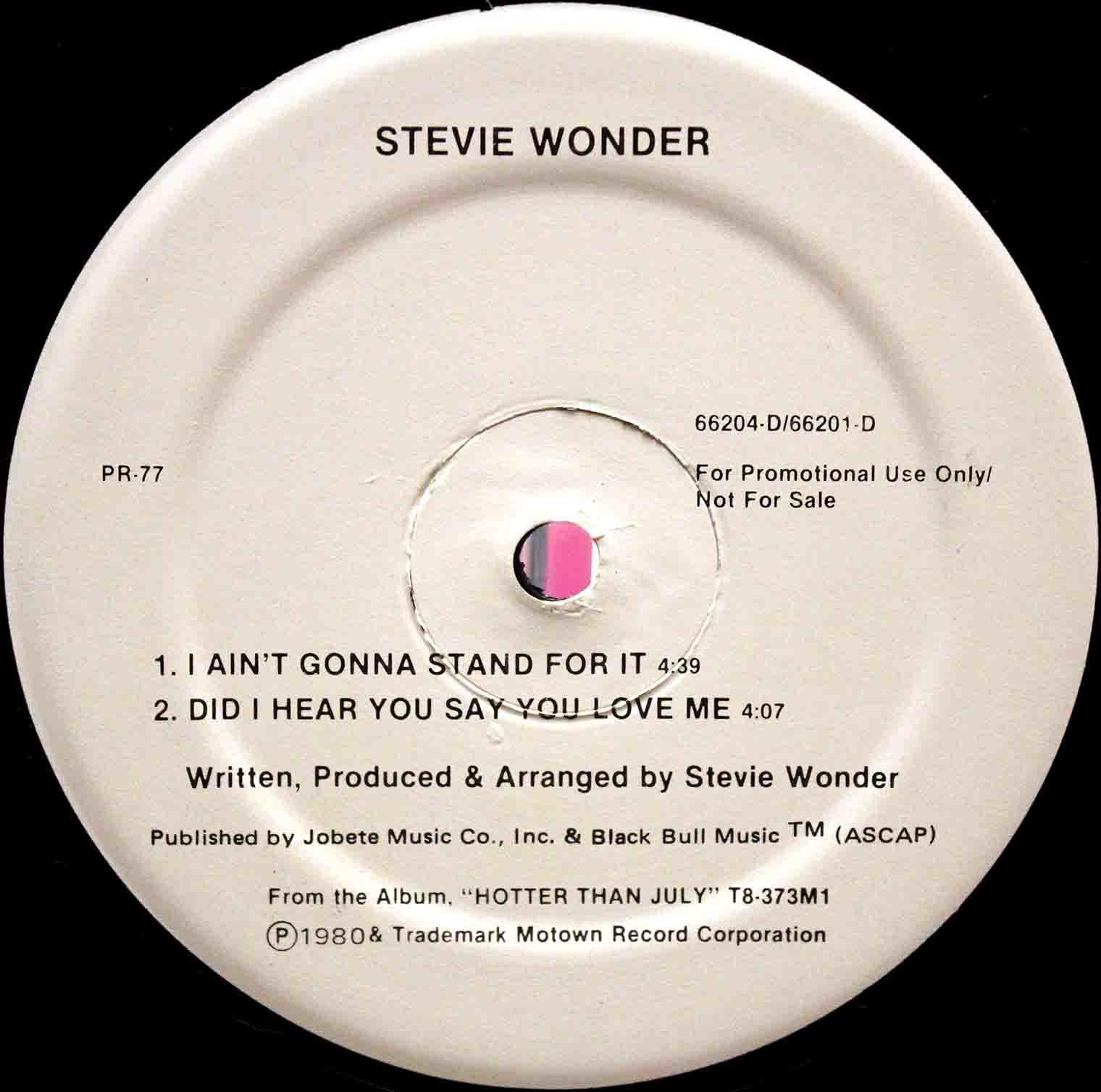 Stevie Wonder – Did I Hear You Say You Love Me 02