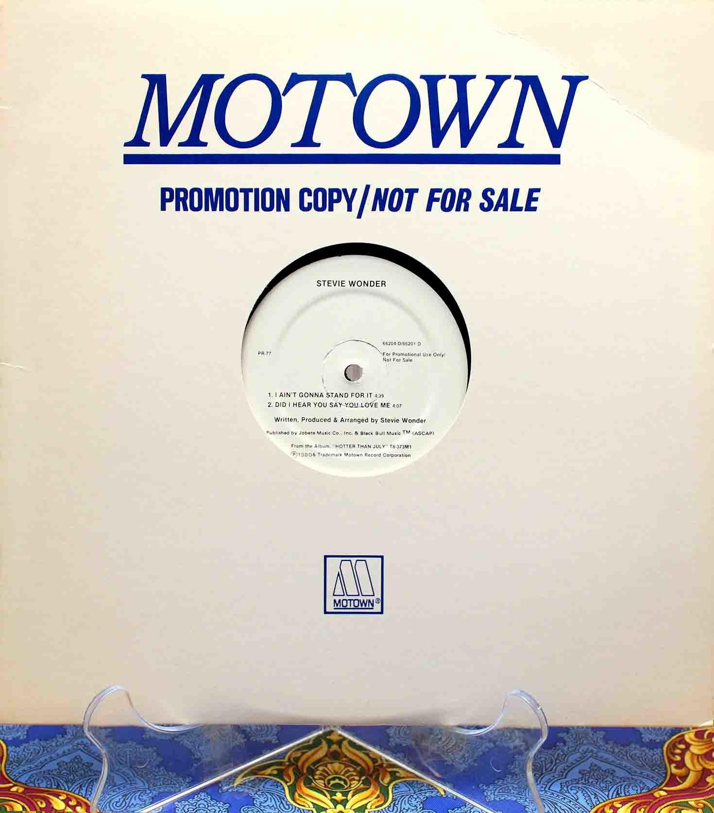 Stevie Wonder – Did I Hear You Say You Love Me 01