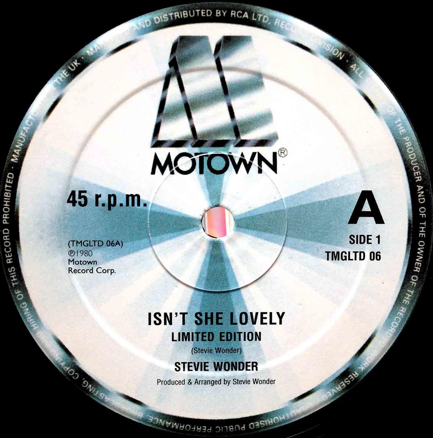 Stevie Wonder – Isnt She Lovely 02
