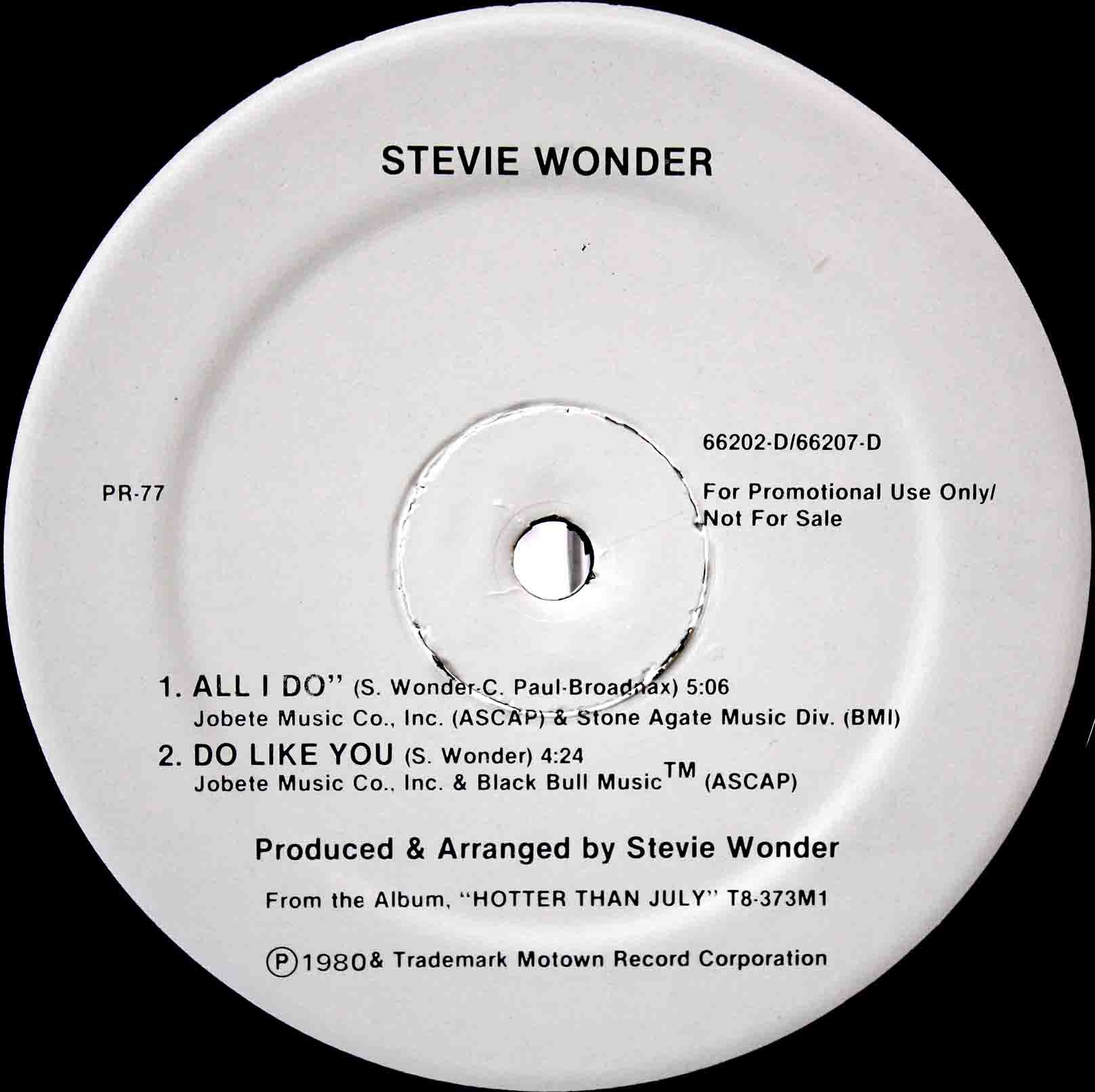 Stevie Wonder - do like you 02