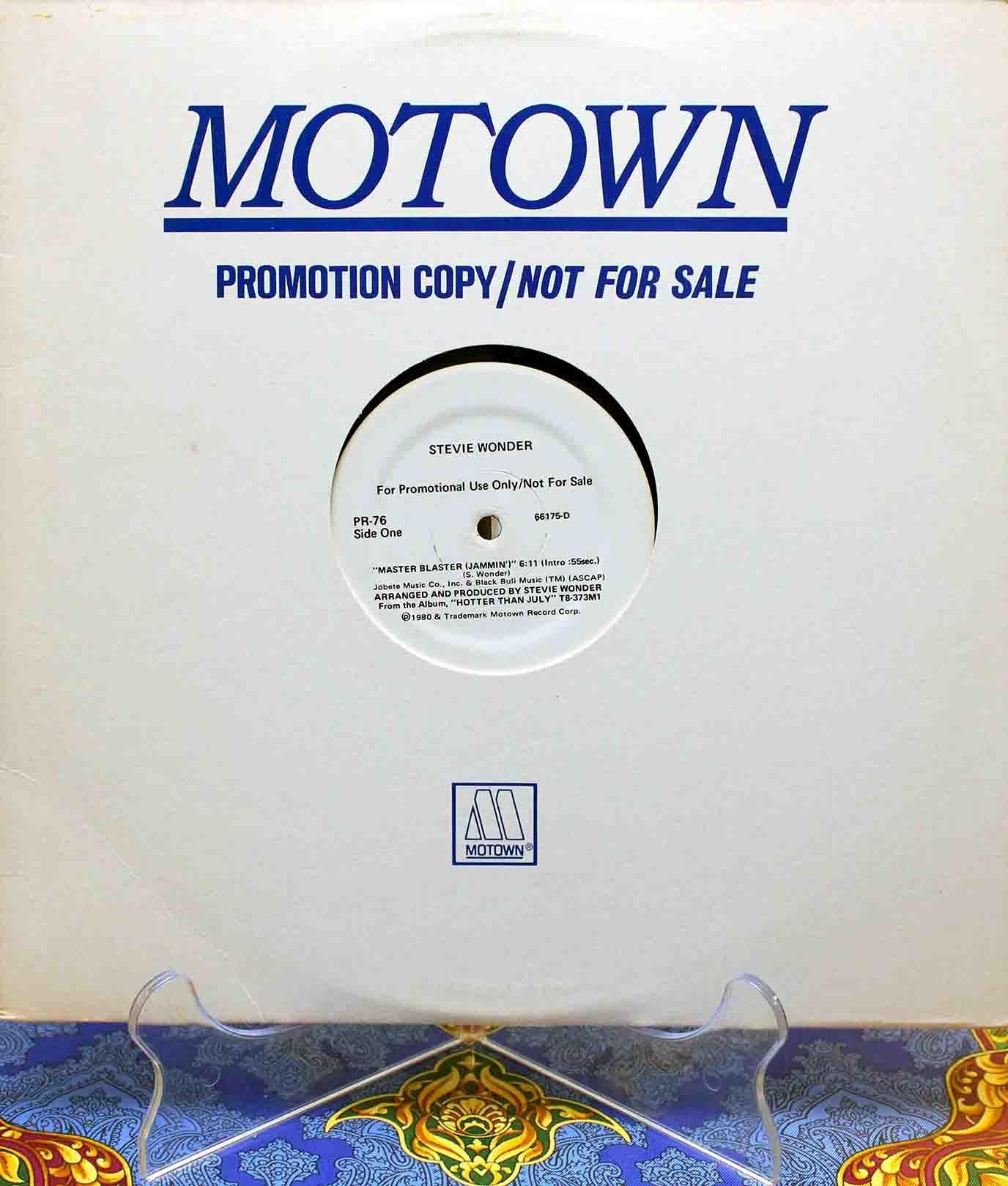 Stevie Wonder – Master Blaster US 01