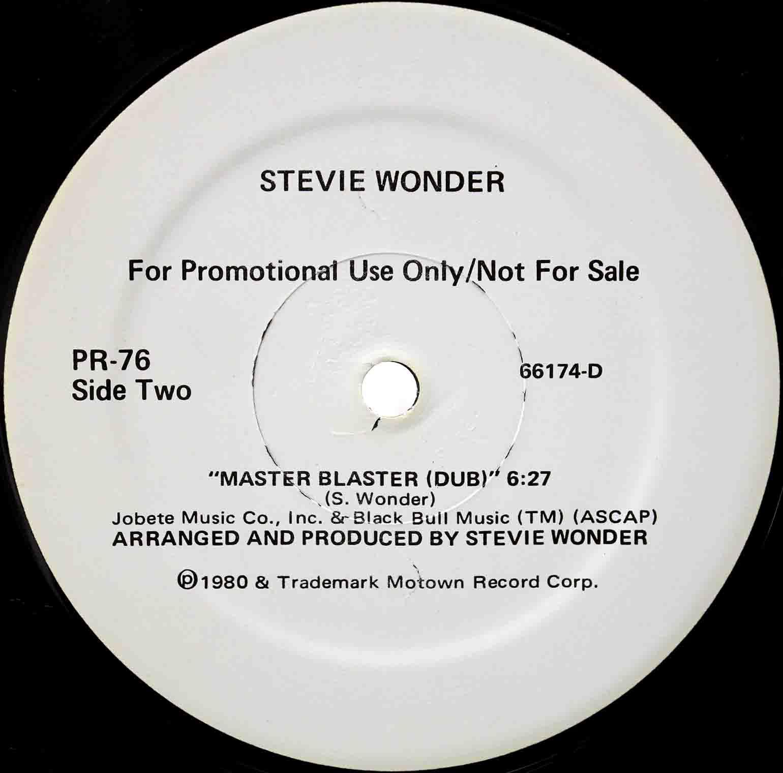 Stevie Wonder – Master Blaster US 04