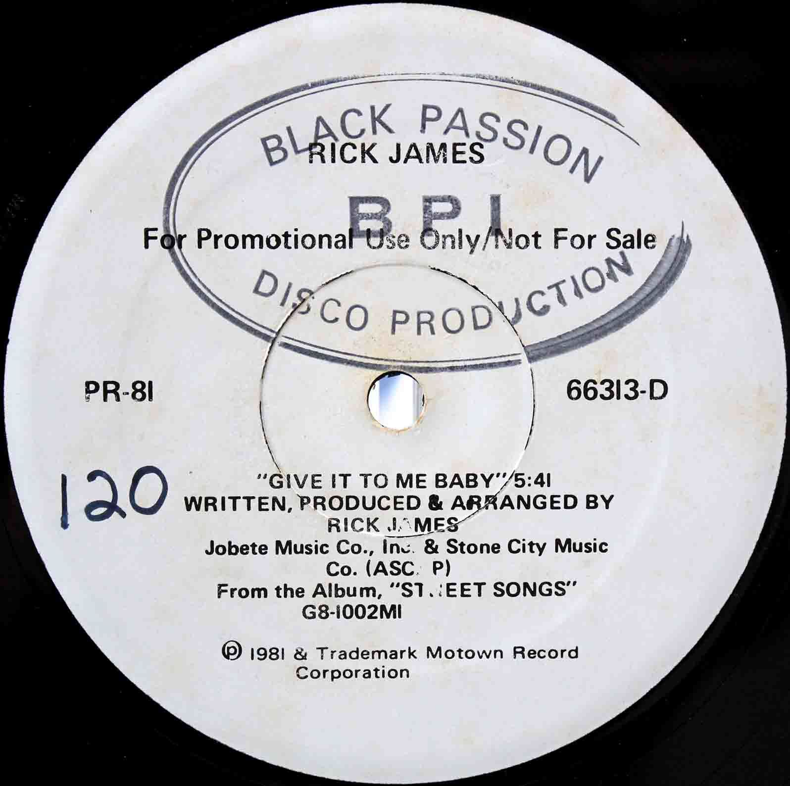 Rick James - Give It To Me Baby 03