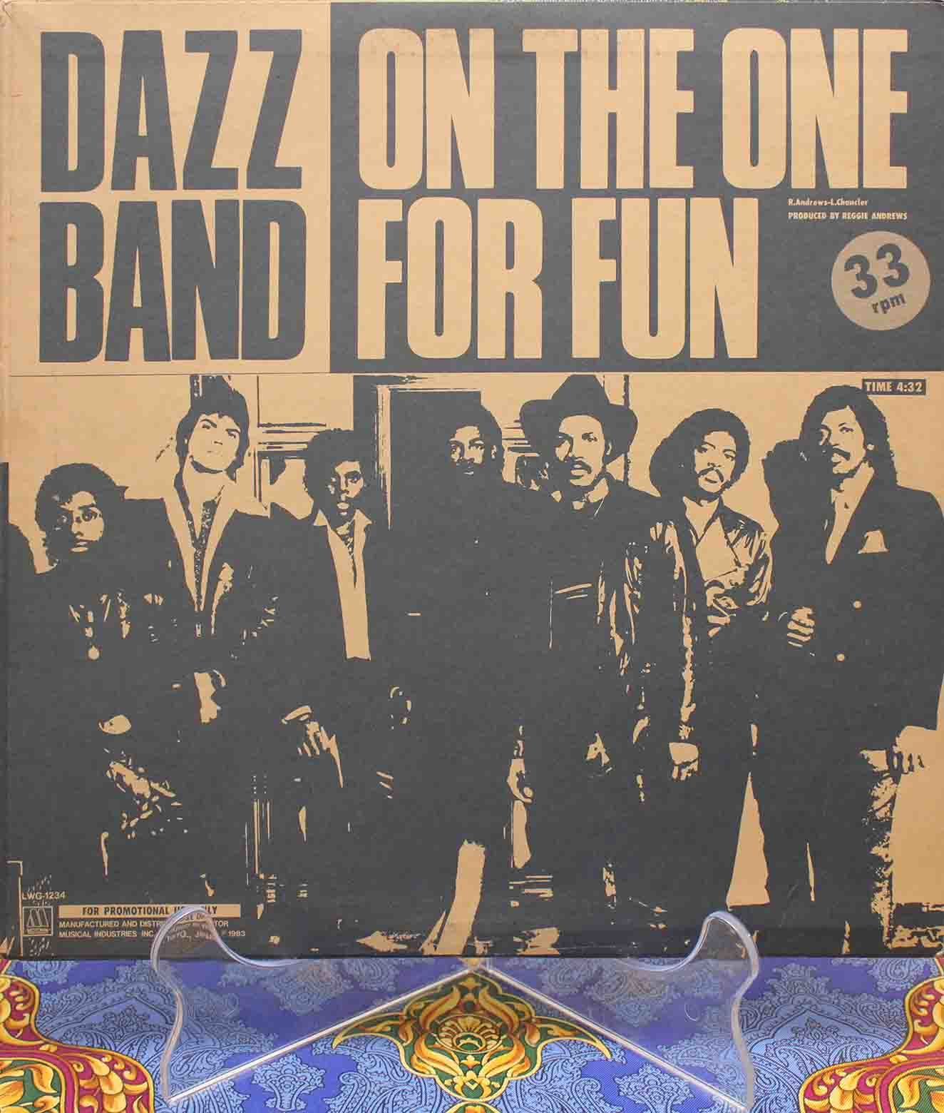 Dazz Band ‎– On The One Japan 01