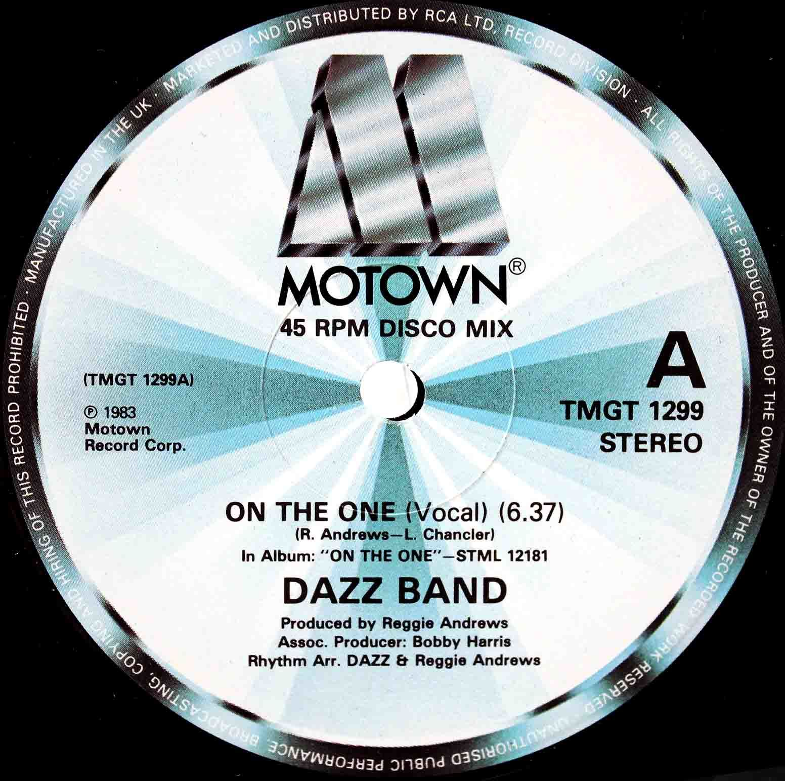 Dazz Band ‎– On The One 03
