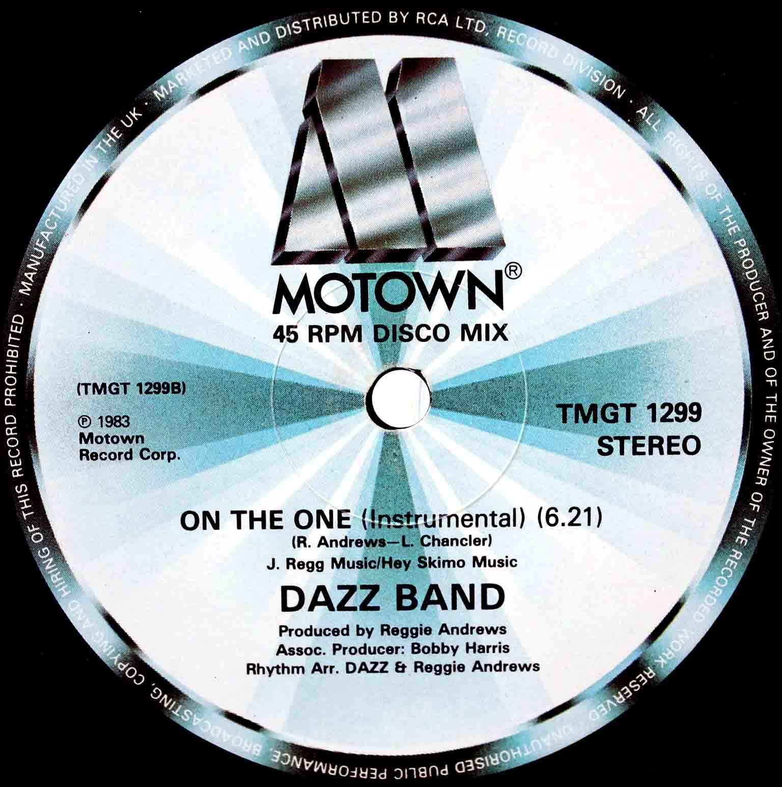 Dazz Band ‎– On The One 04