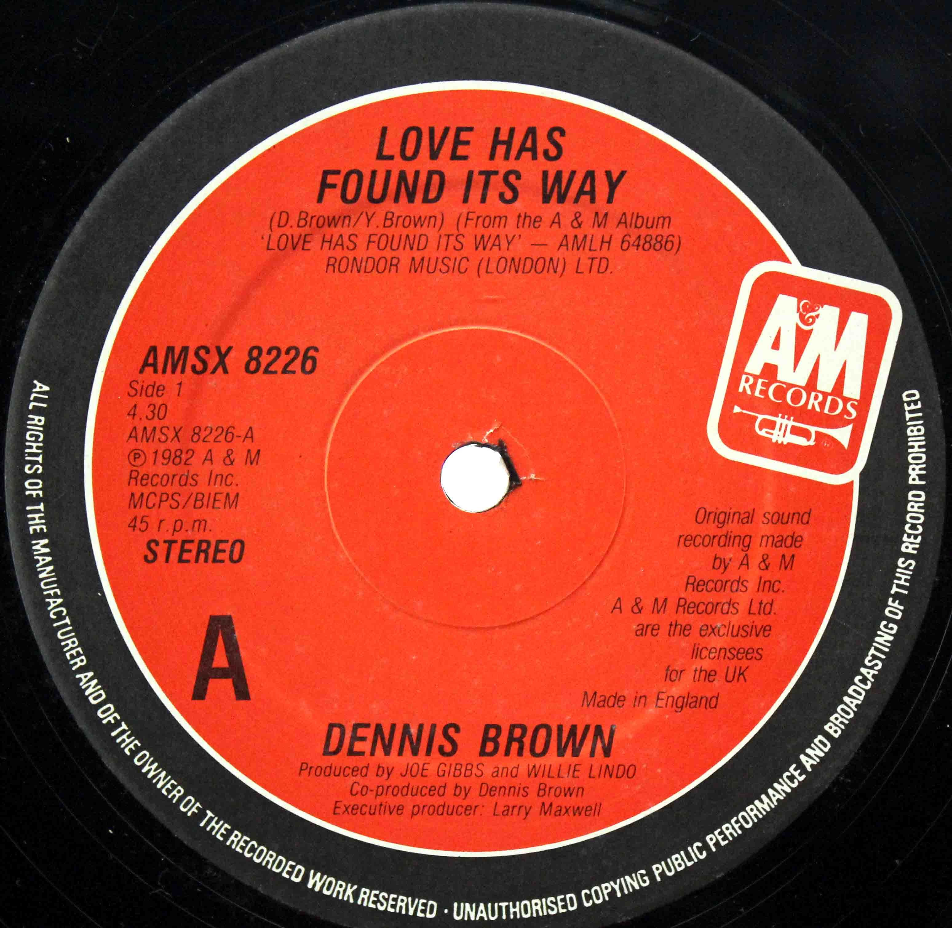 Dennis Brown Love Has Found Its Way 03