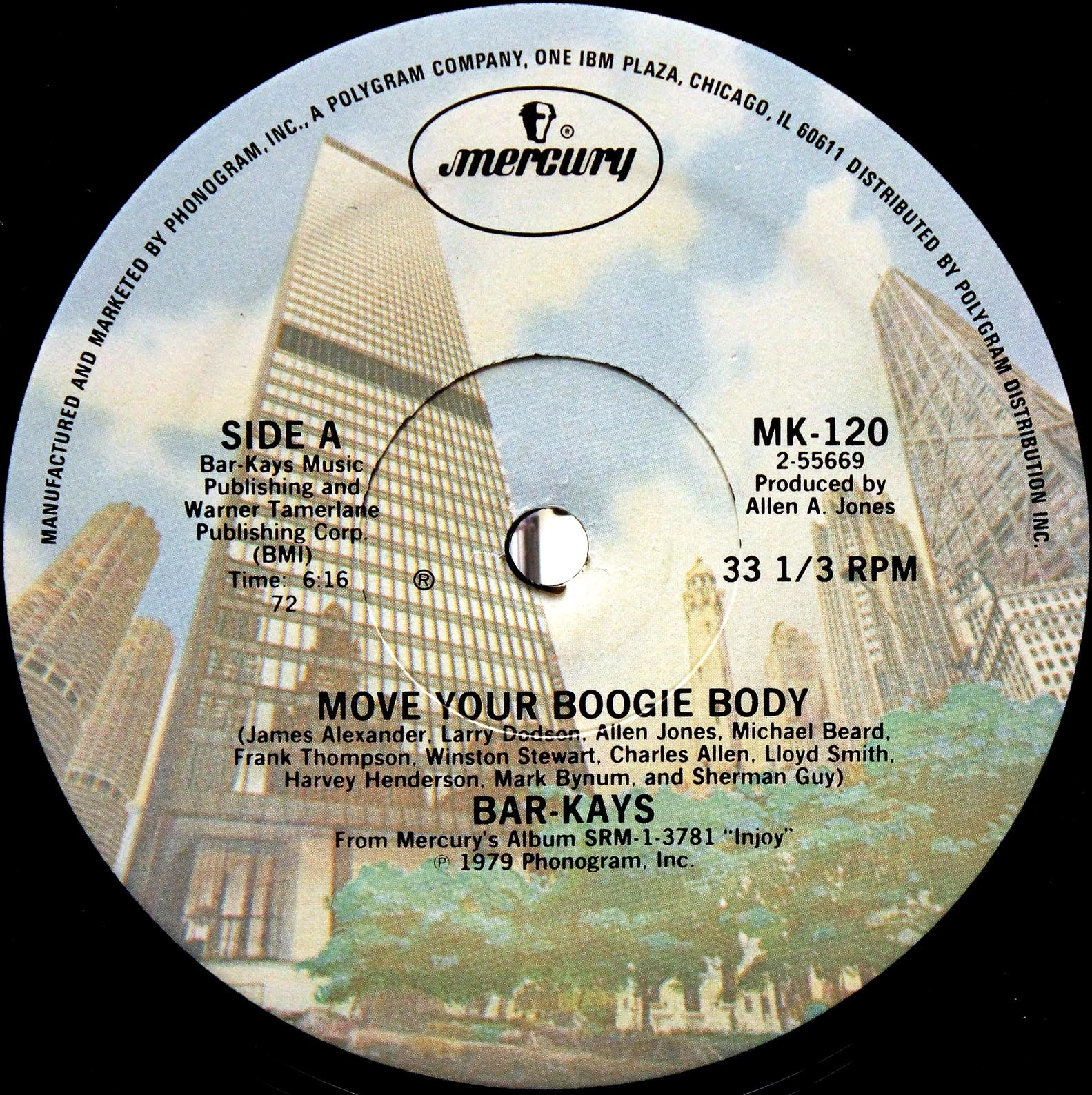 Bar-Kays ‎– Move Your Boogie Body 02