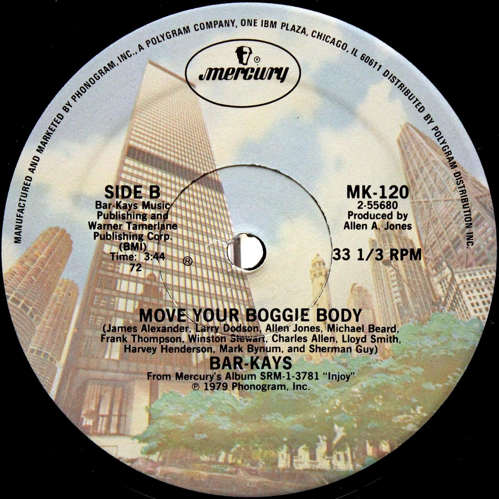 Bar-Kays ‎– Move Your Boogie Body 03