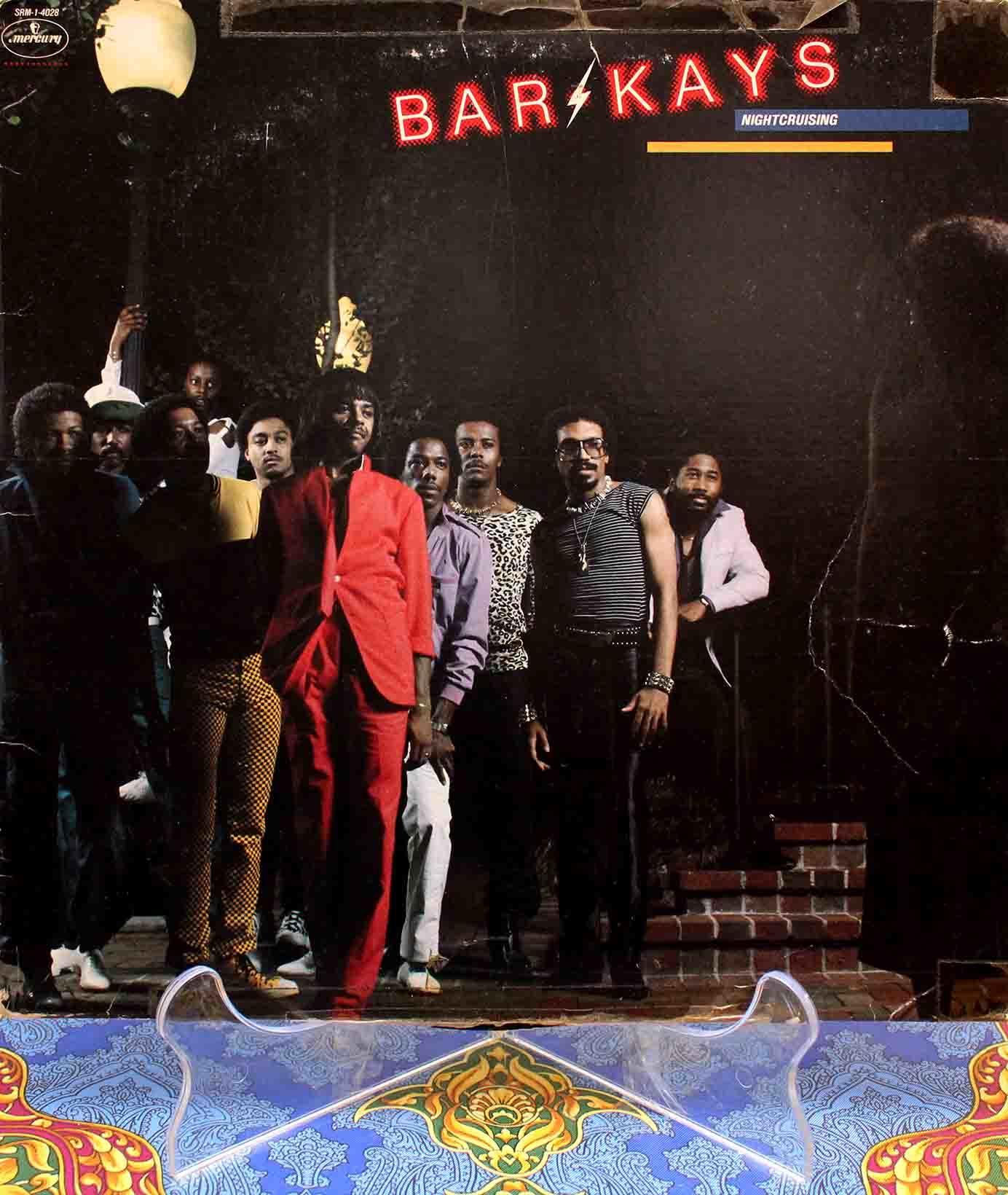 Bar-Kays – Night Crising LP 01