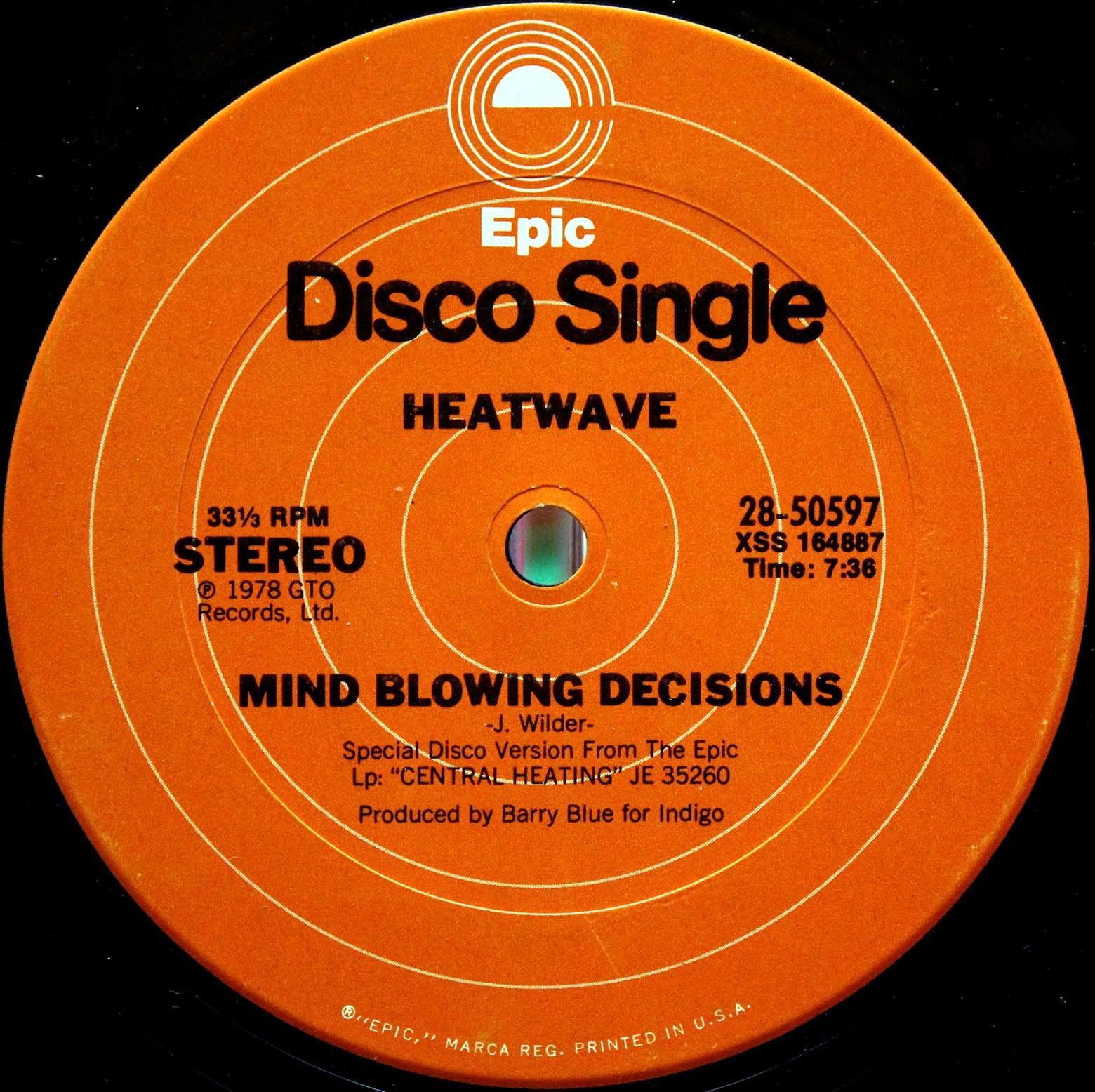 Heatwave – Mind Blowing Decisons 03