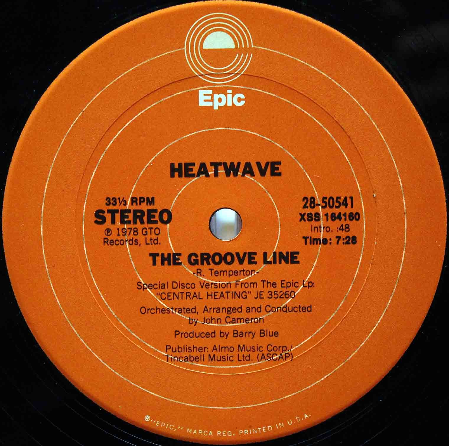 Heatwave ‎– The Groove Line 03