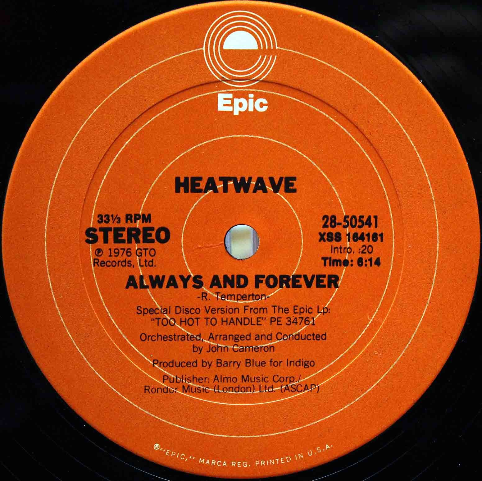 Heatwave ‎– The Groove Line 04