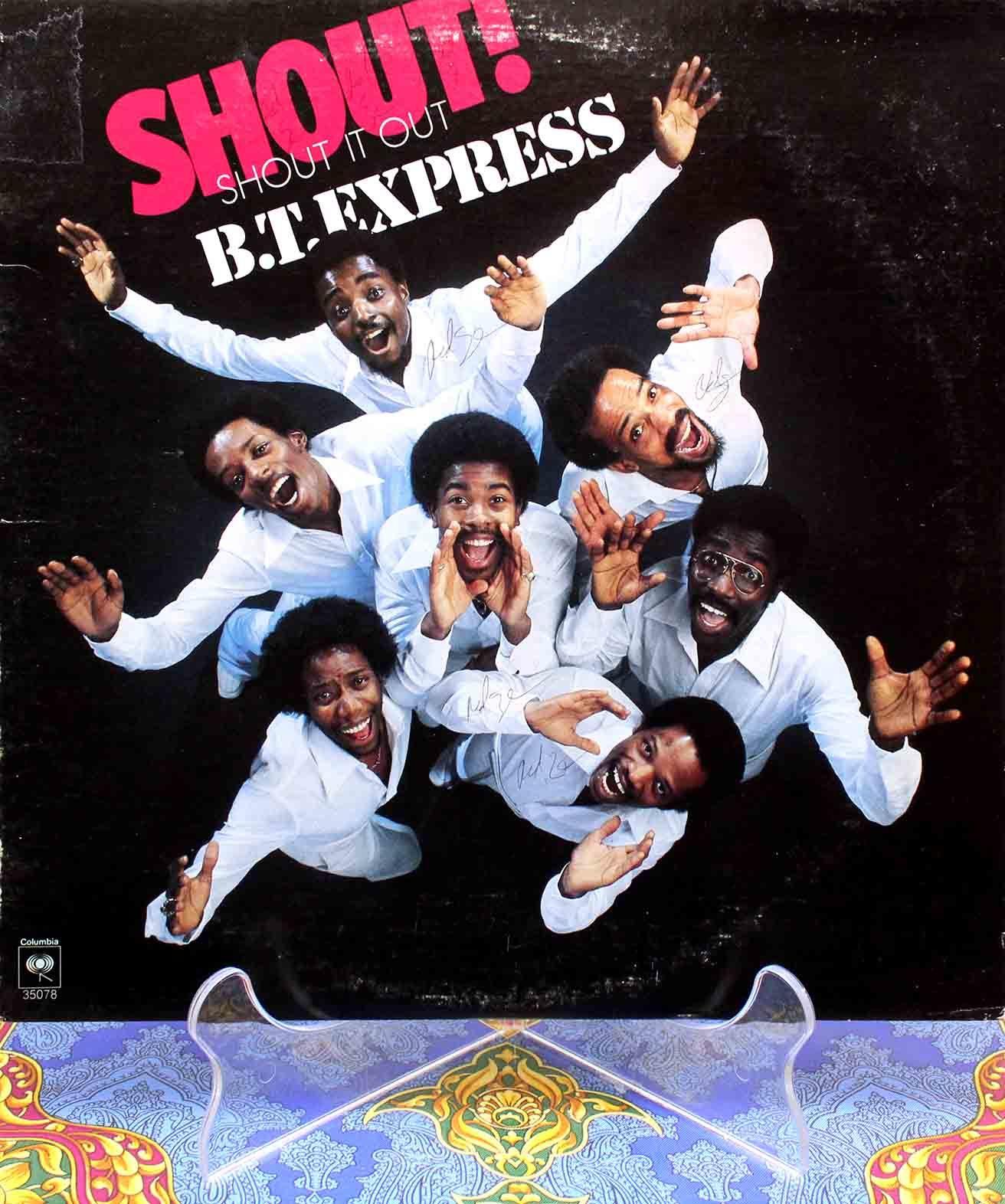 BT Express – Shout It Out LP 01