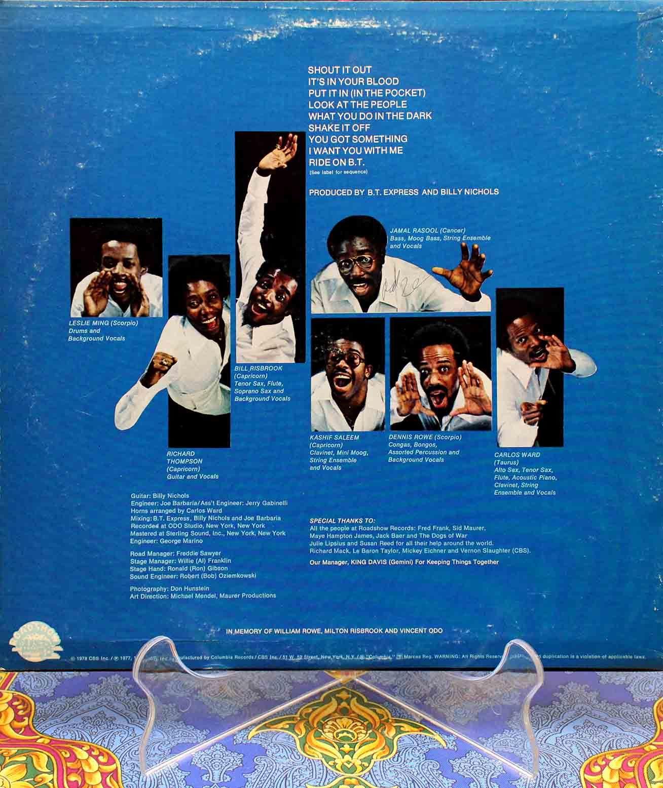 BT Express – Shout It Out LP 02