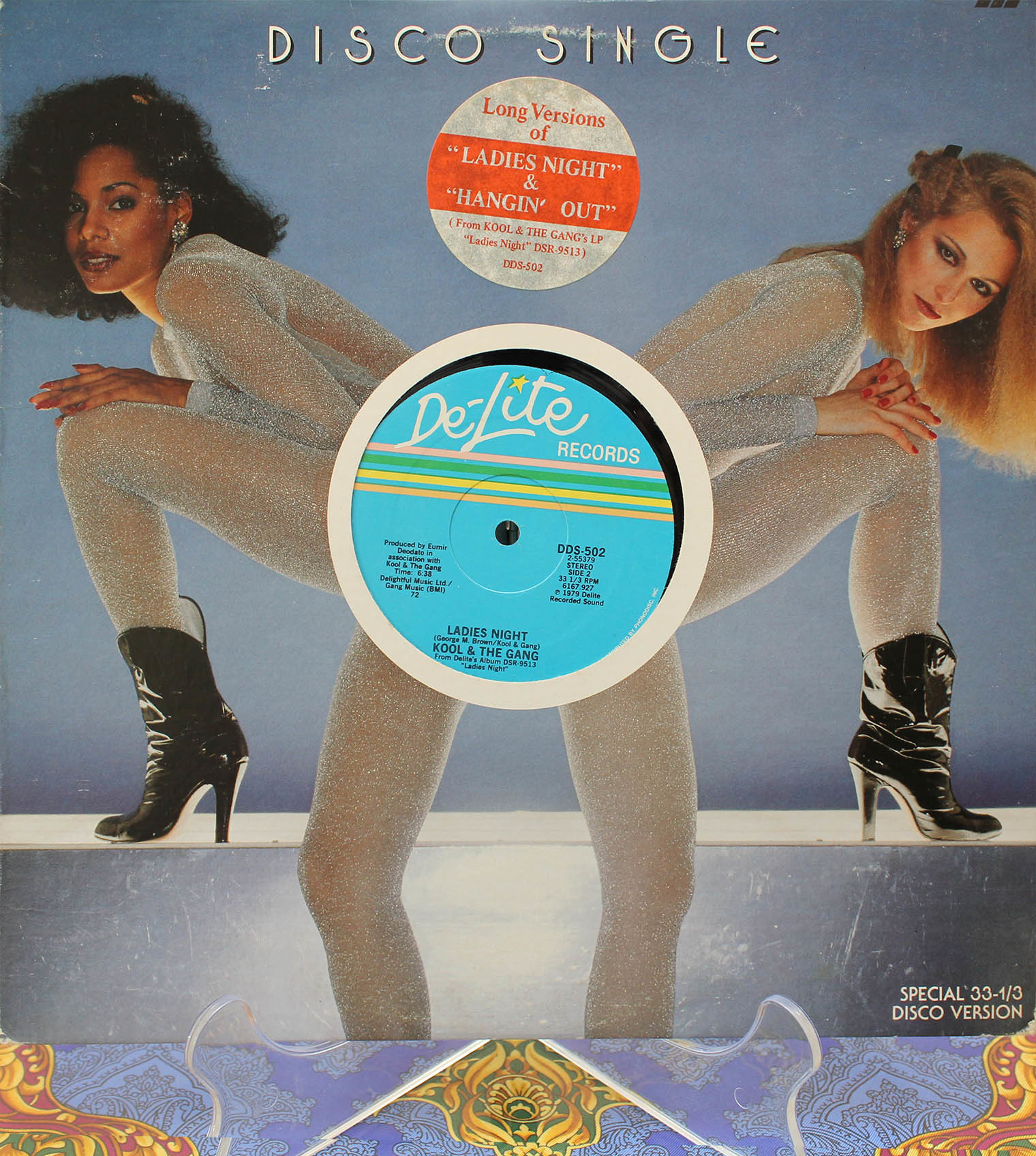 Kool The Gang Ladys Night 12 inch 01