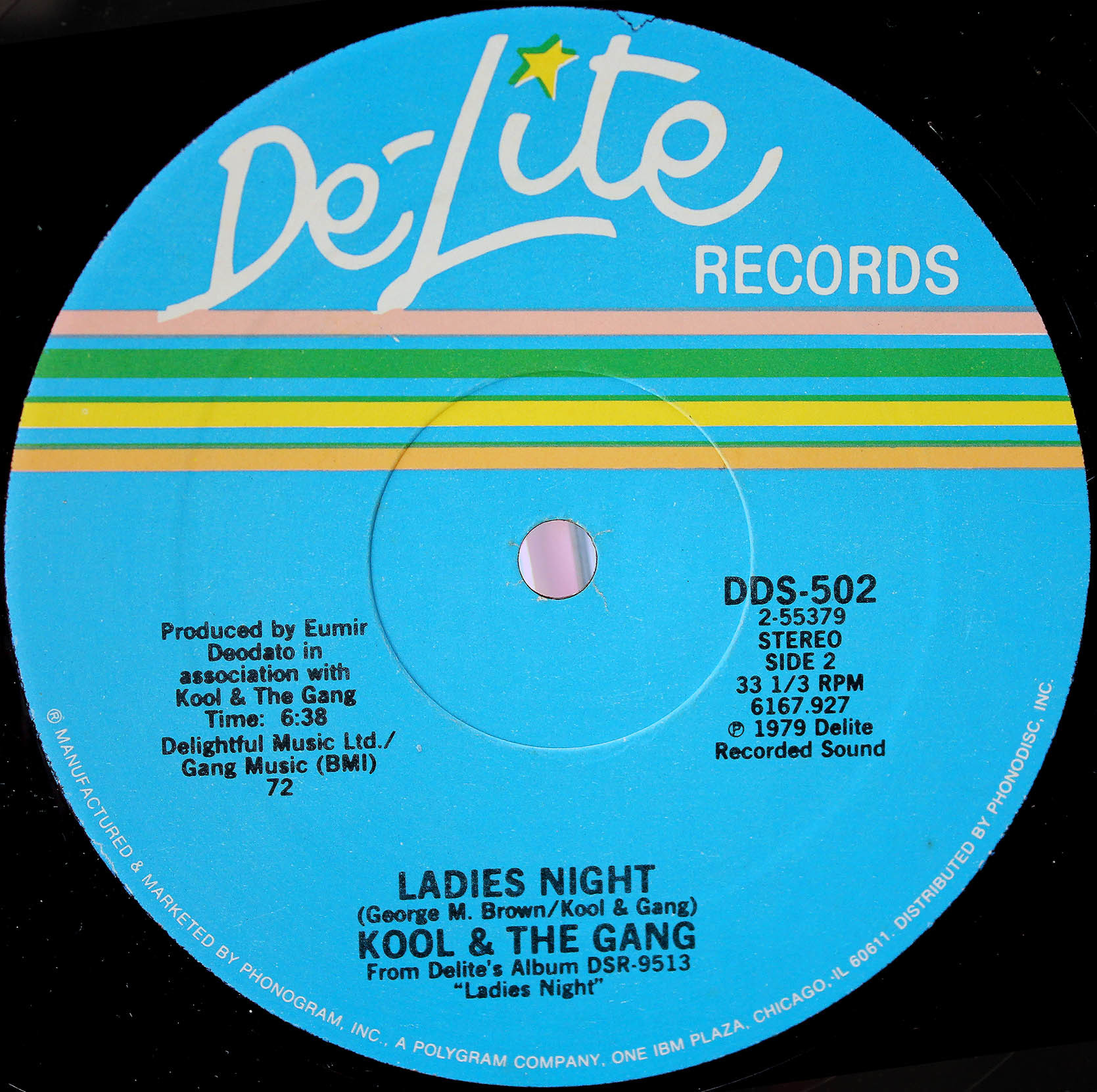 Kool The Gang Ladys Night 12 inch 03