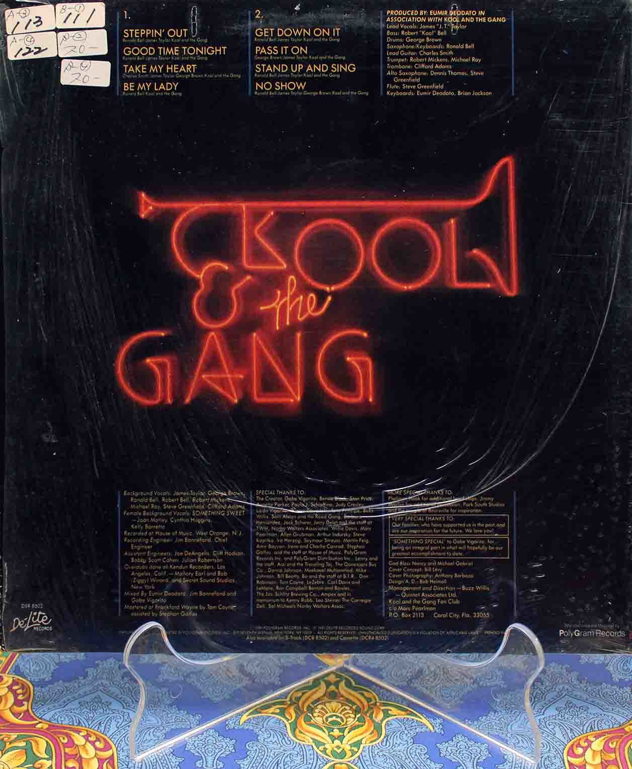 Kool The Gang ‎– Something Special LP 02