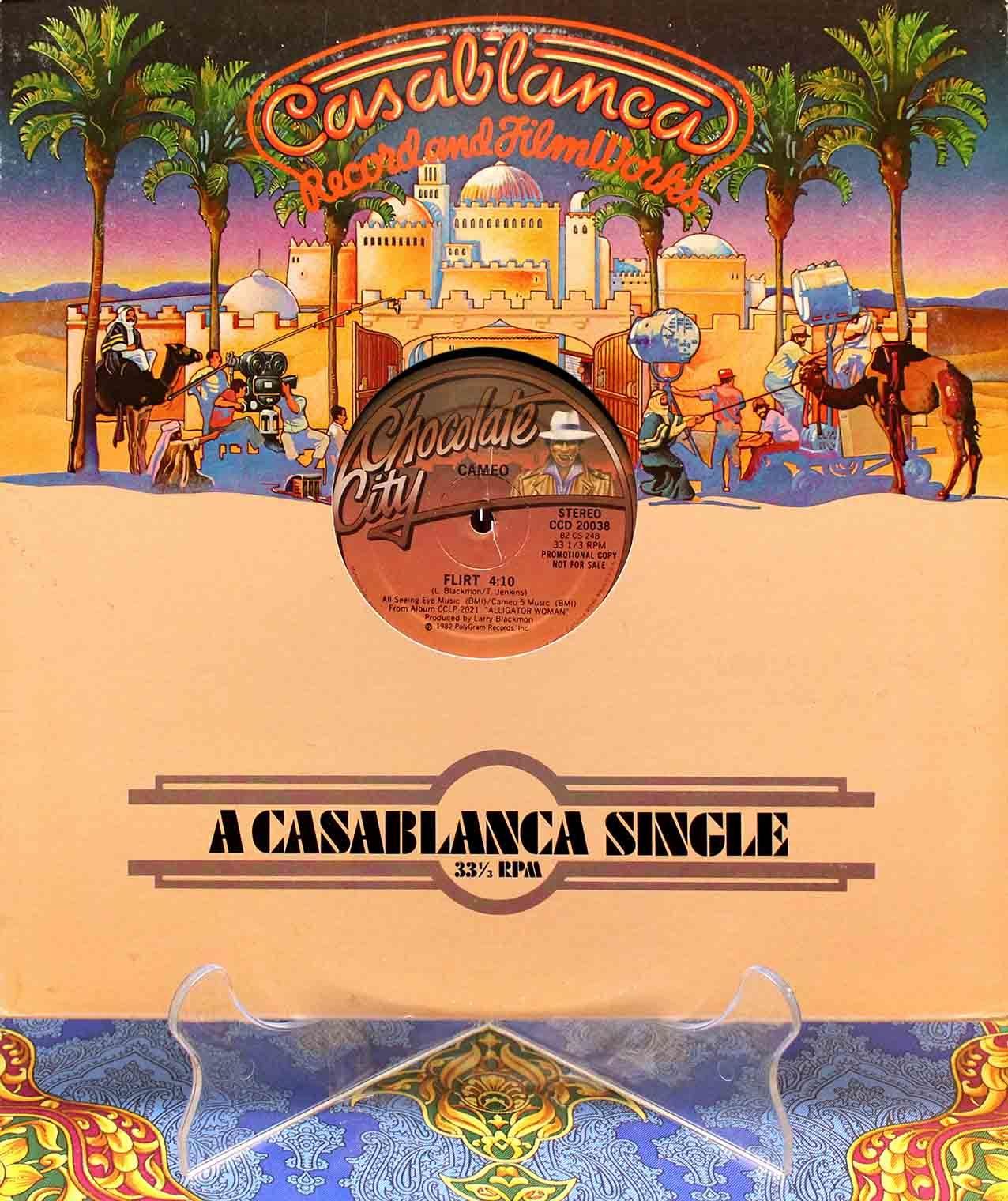 Cameo – Flirt (US Promo 12`Special Disco Version) 01