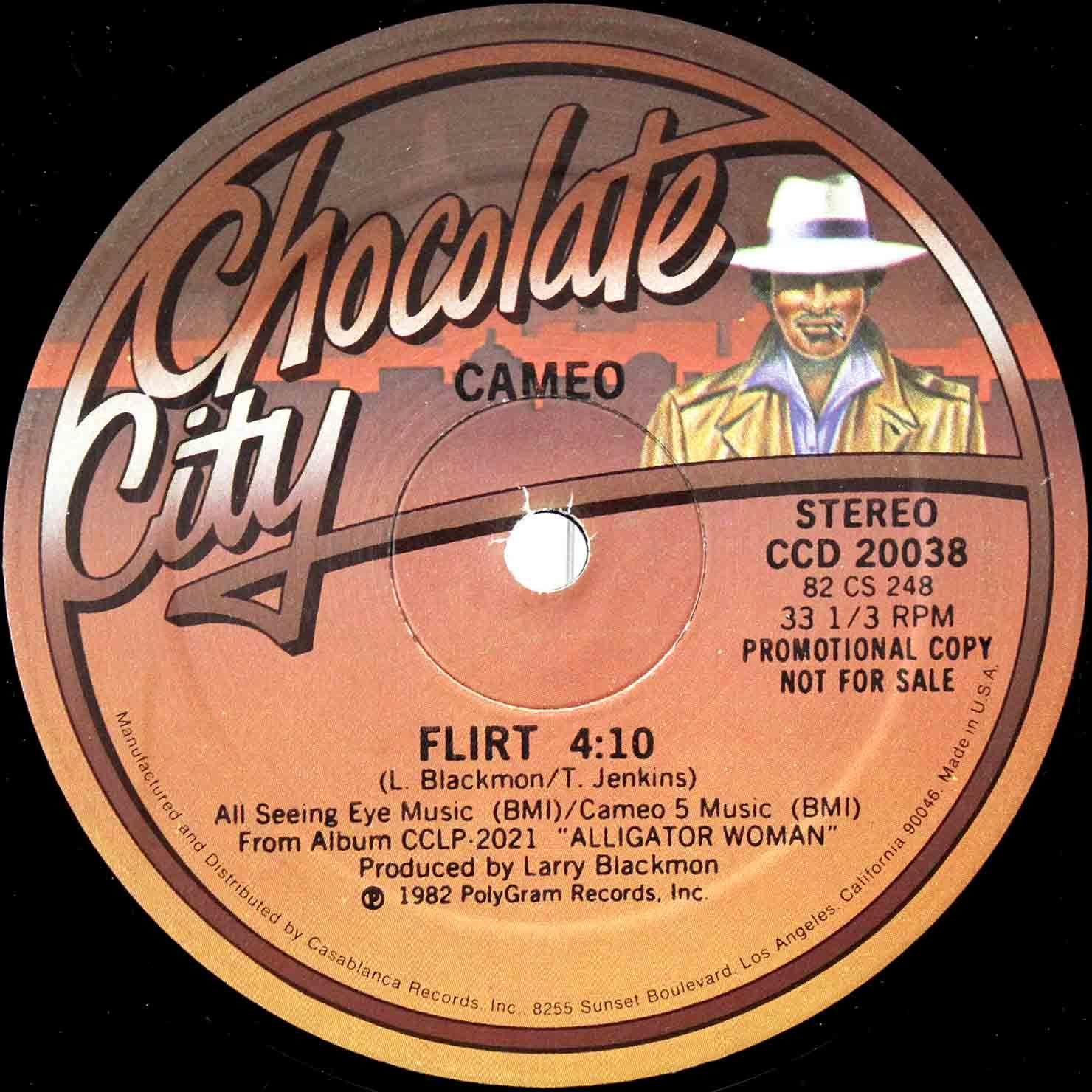 Cameo ‎– Flirt (US Promo 12`Special Disco Version) 03