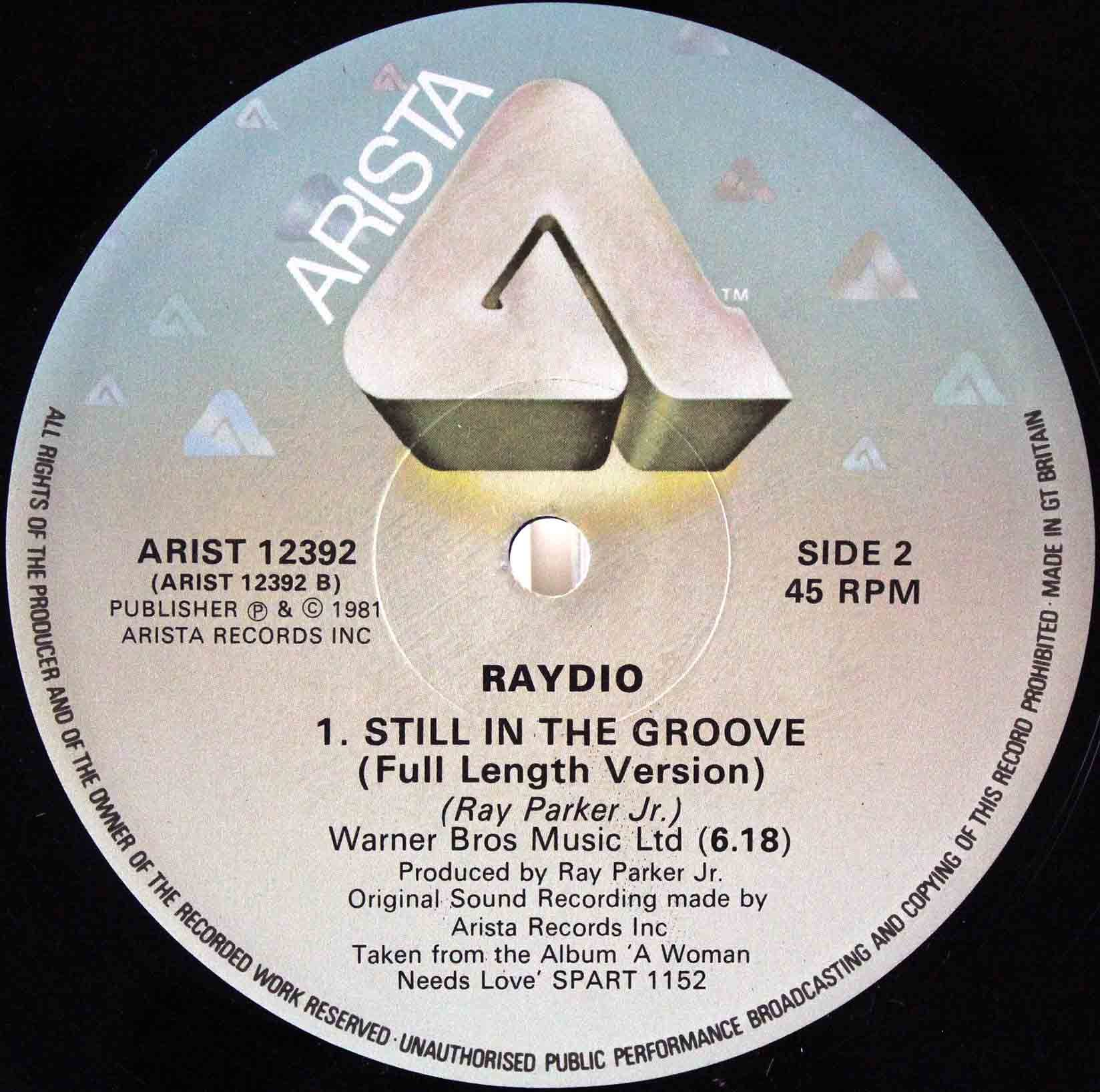 Ray Parker Jr Raydio- Still In The Groove 02