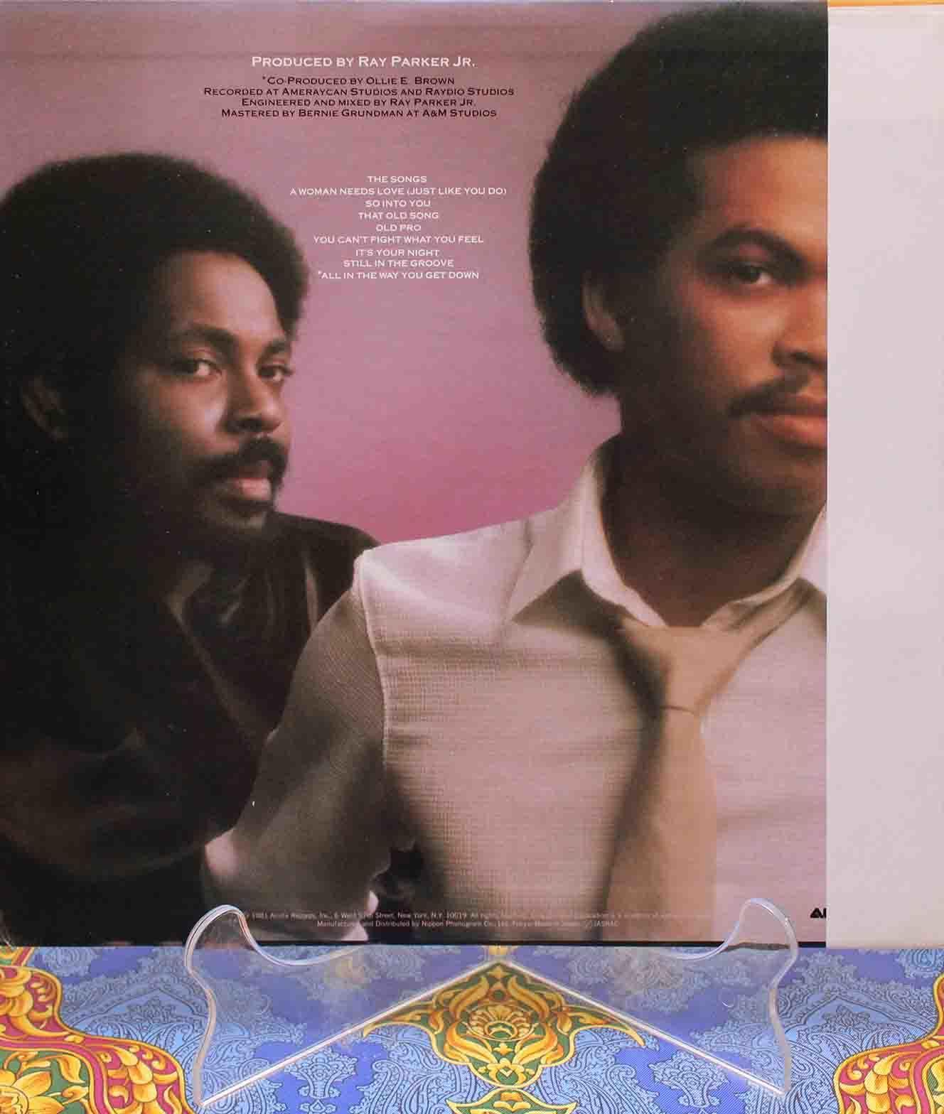 Ray Parker Jr Raydio- Women needs love LP 02